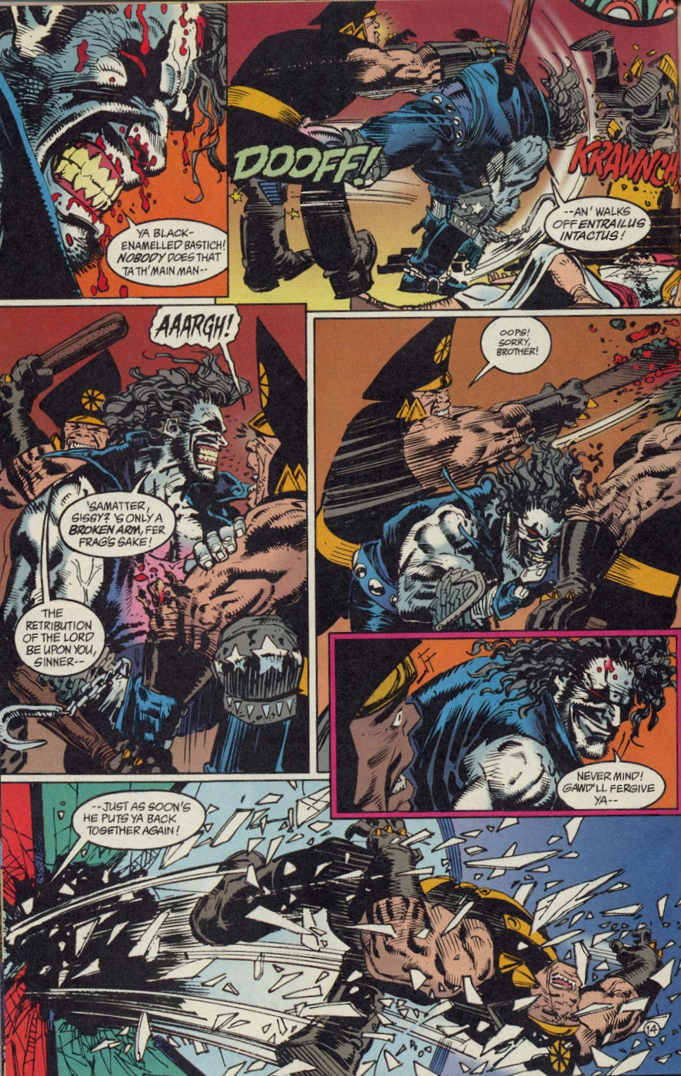 Read online Lobo: A Contract on Gawd comic -  Issue #1 - 15