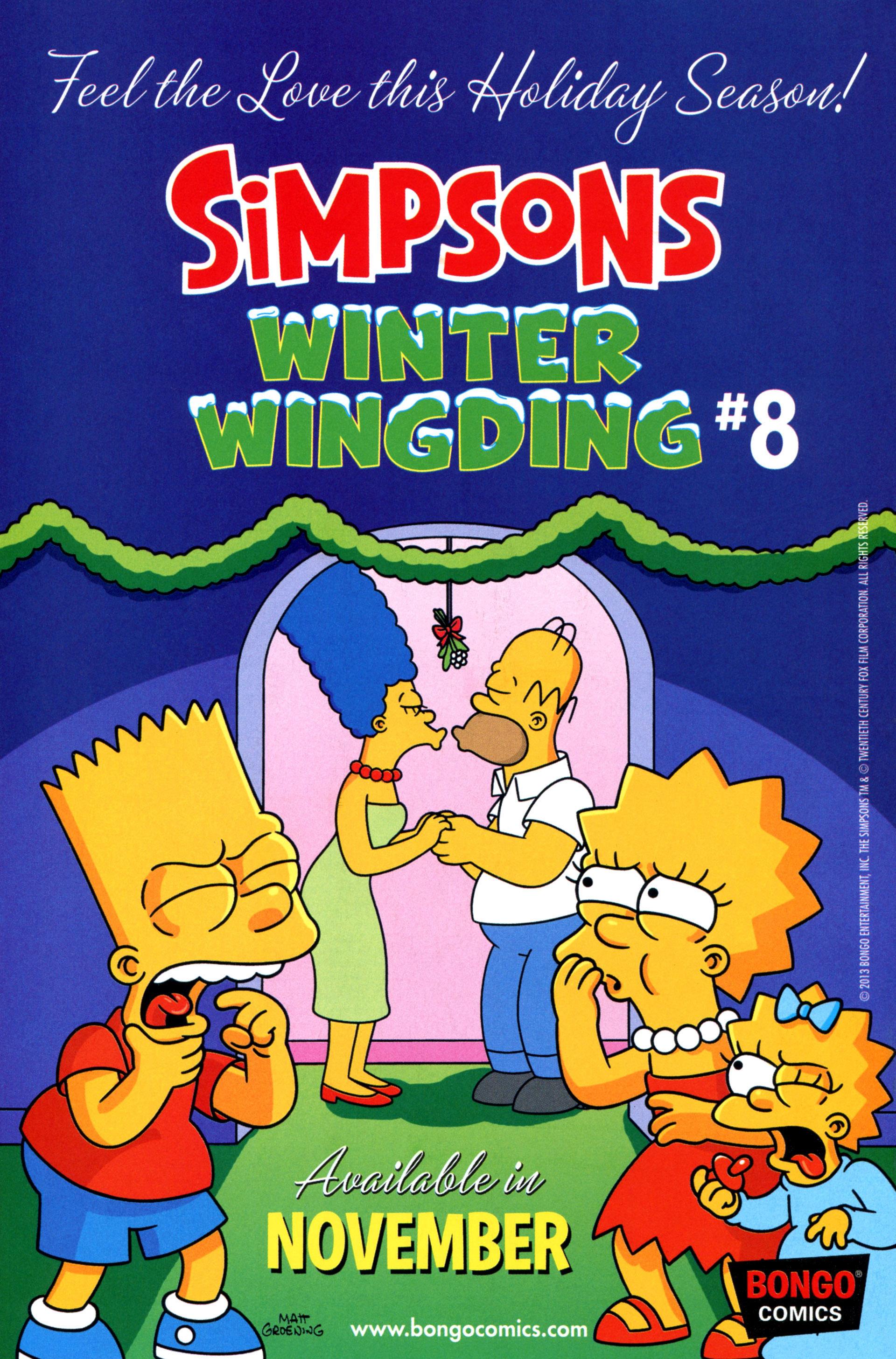 Read online Simpsons Comics comic -  Issue #206 - 30