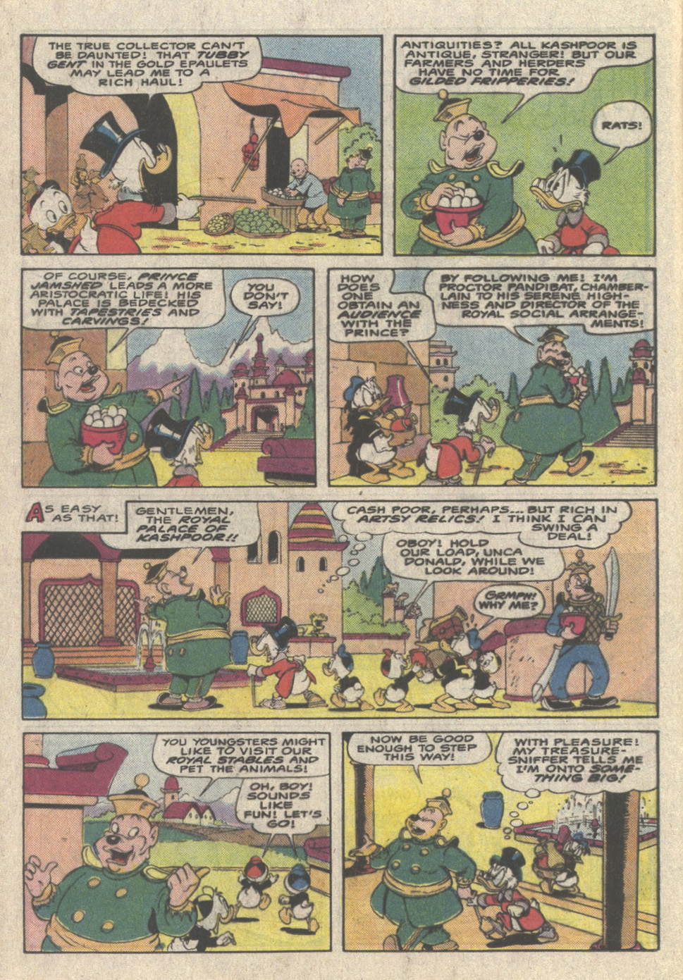 Read online Uncle Scrooge (1953) comic -  Issue #223 - 16
