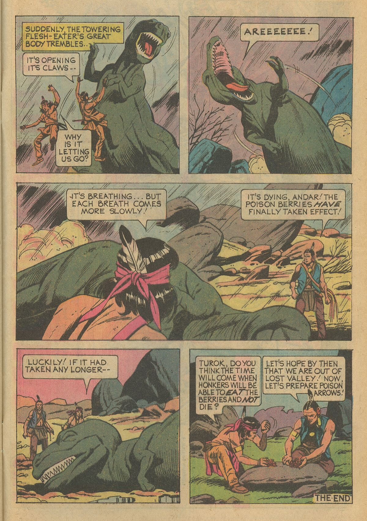 Read online Turok, Son of Stone comic -  Issue #95 - 33