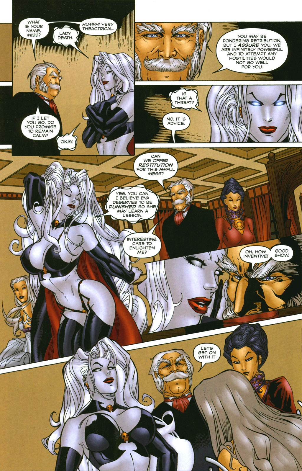 Read online Lady Death: The Wicked comic -  Issue #1 - 30