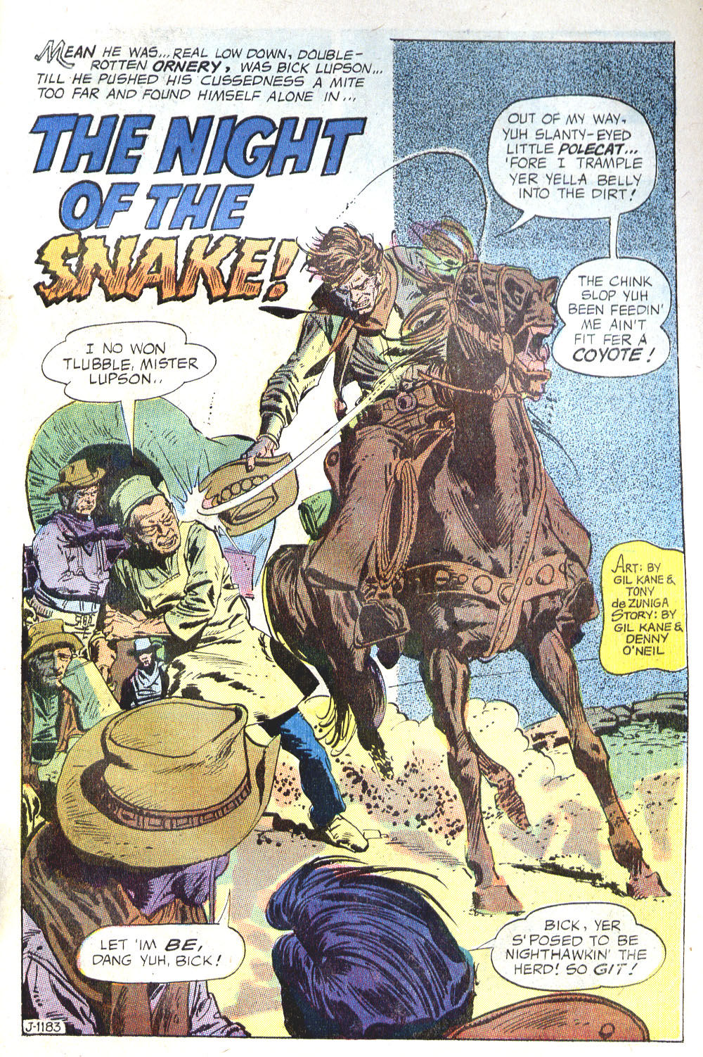 Read online All-Star Western (1970) comic -  Issue #6 - 23