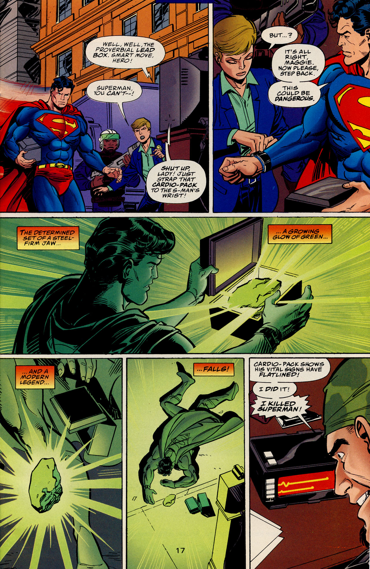 Read online Action Comics (1938) comic -  Issue #728 - 23