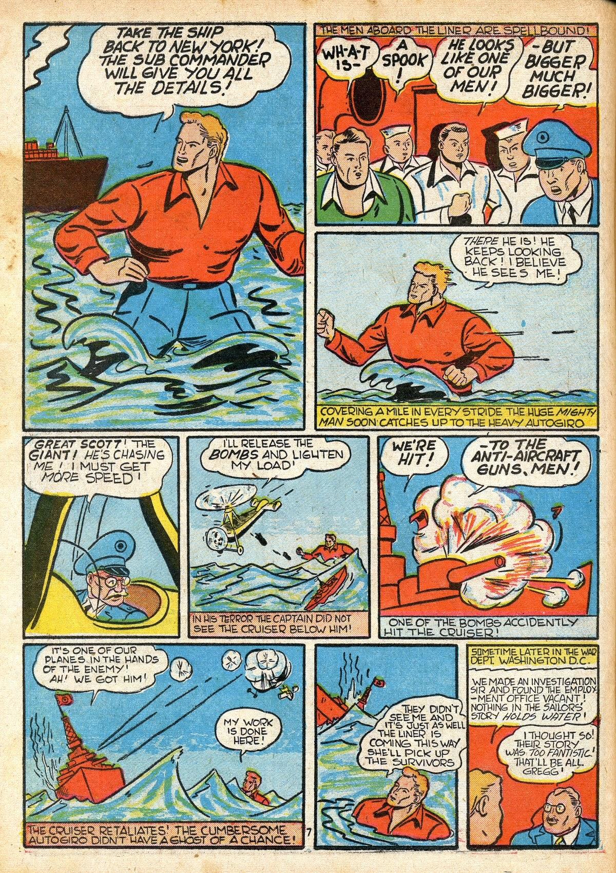 Read online Amazing Man Comics comic -  Issue #16 - 42