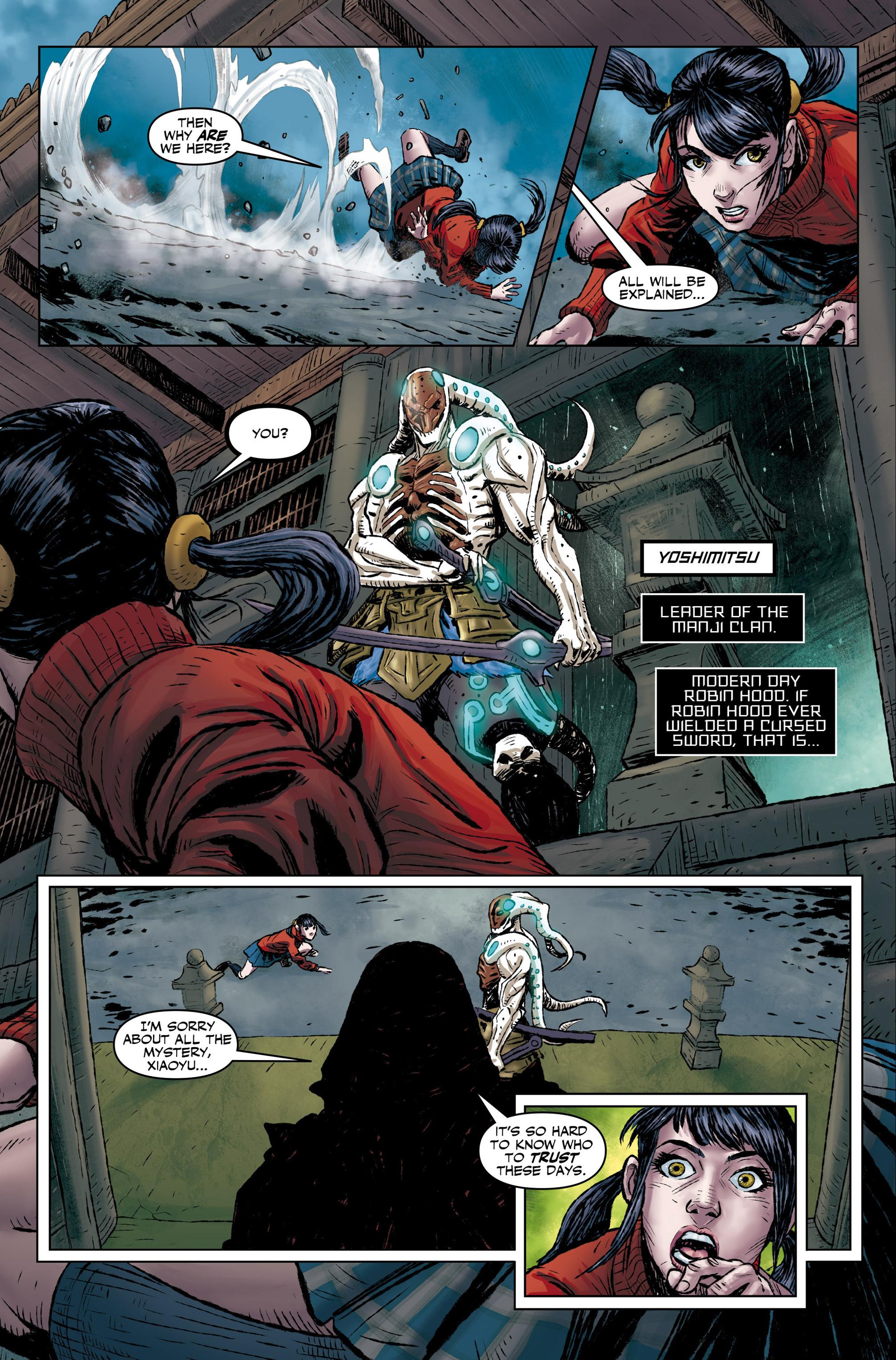 Read online Tekken comic -  Issue #1 - 25