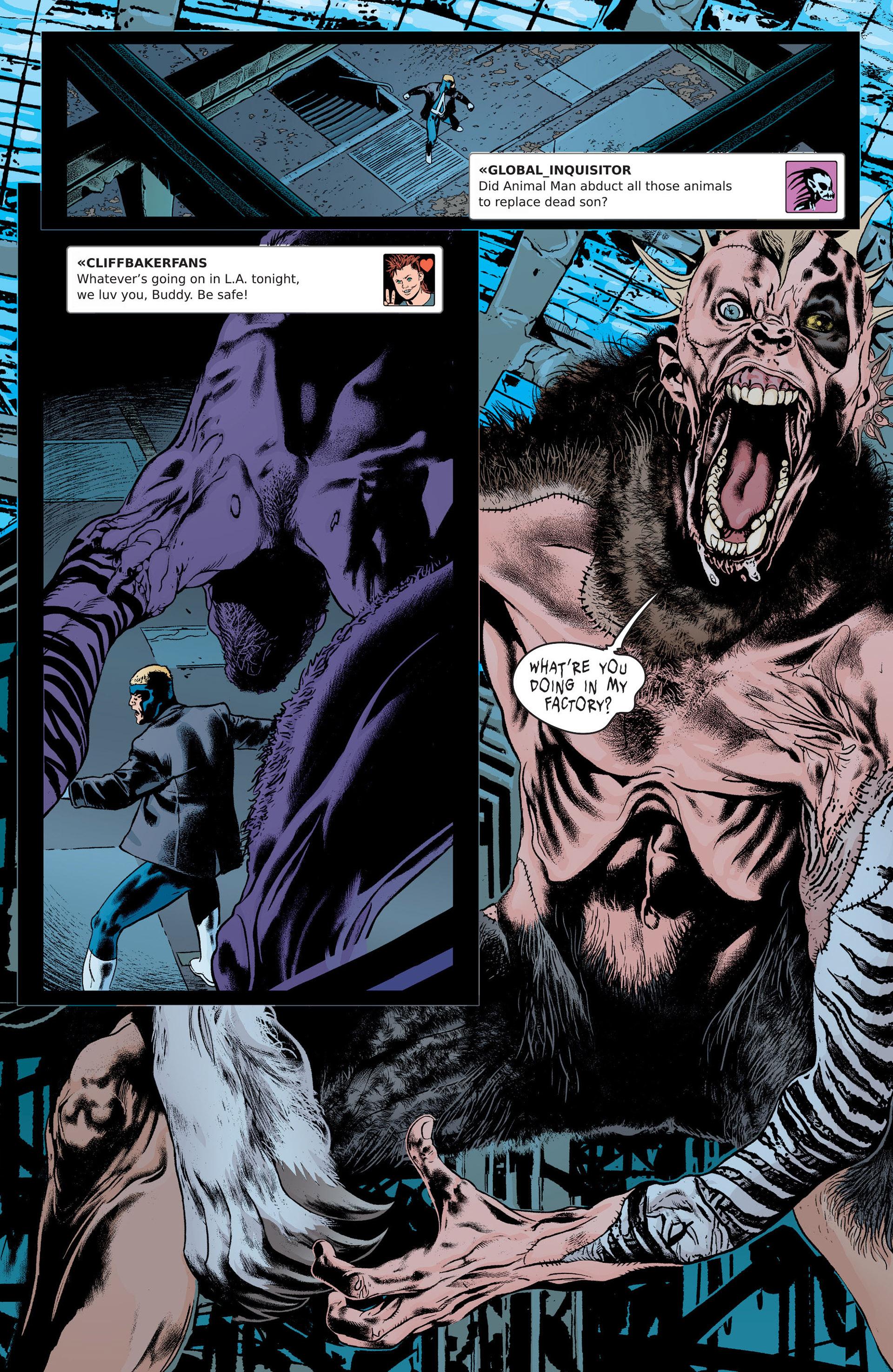 Read online Animal Man (2011) comic -  Issue #21 - 16