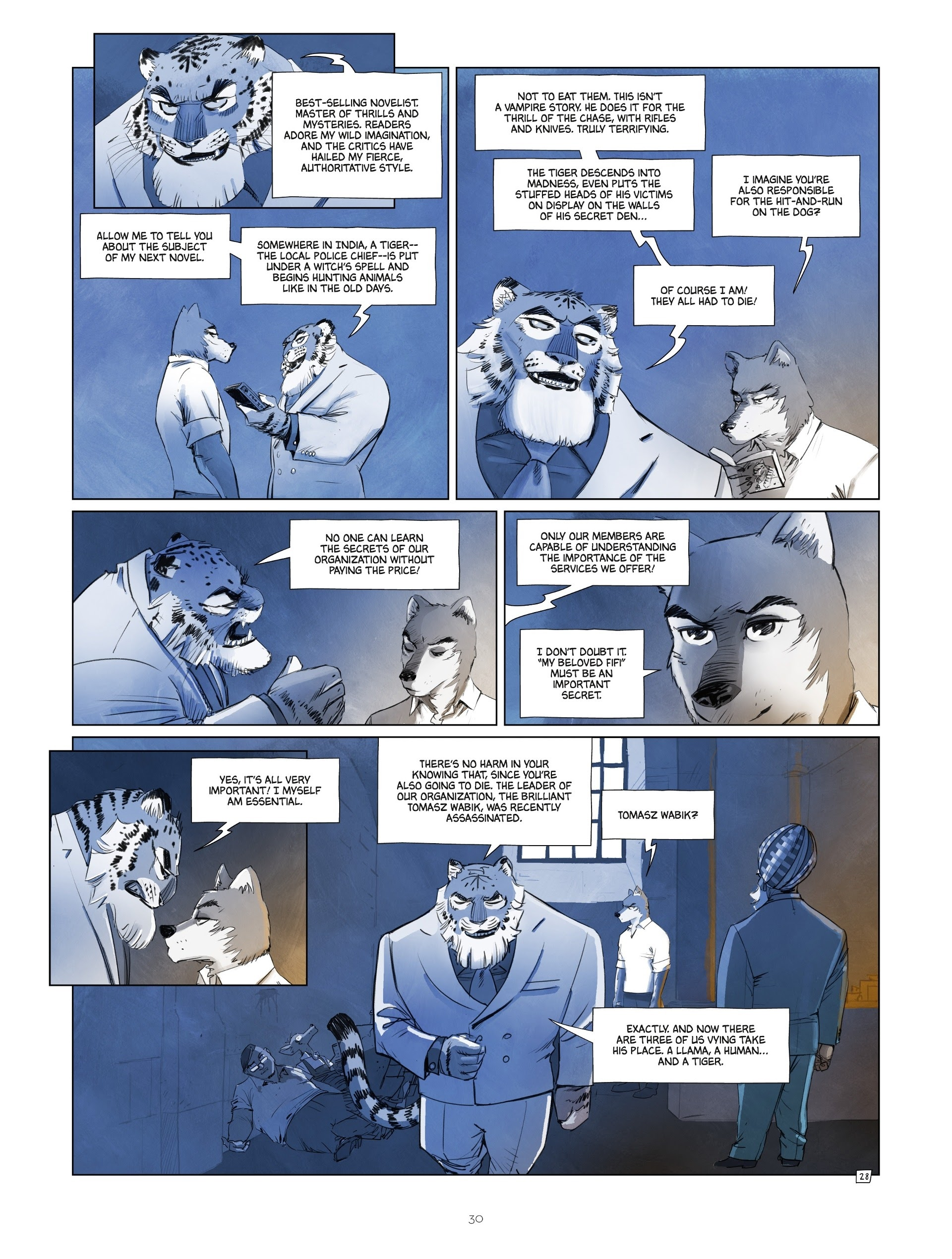 Read online Jack Wolfgang comic -  Issue #3 - 32