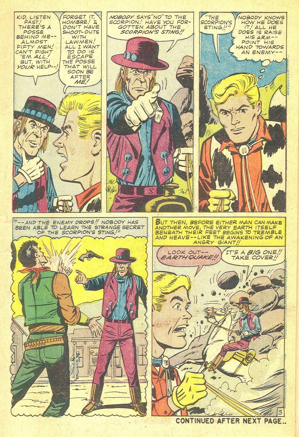 Kid Colt Outlaw issue 115 - Page 7