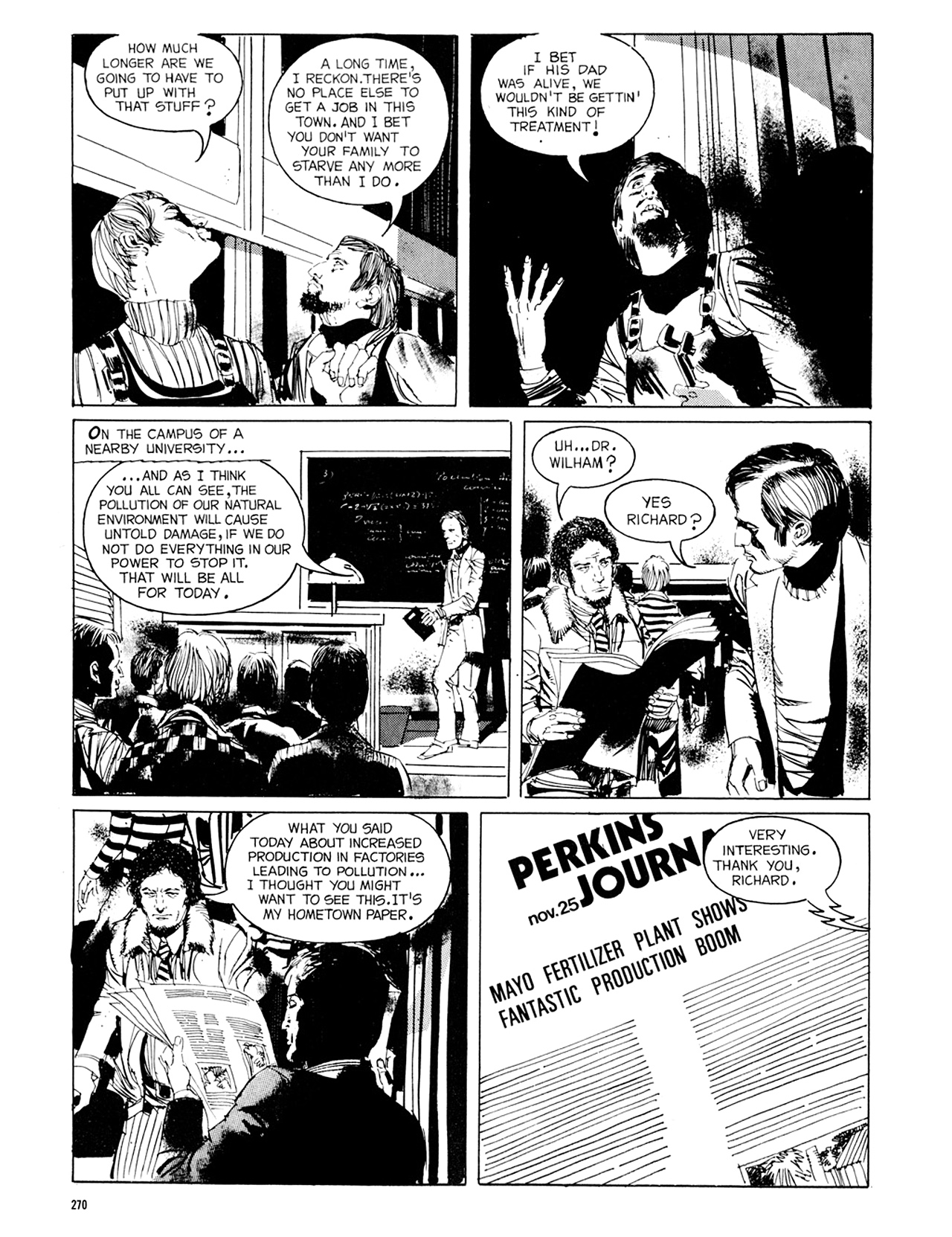 Read online Eerie Archives comic -  Issue # TPB 8 - 271
