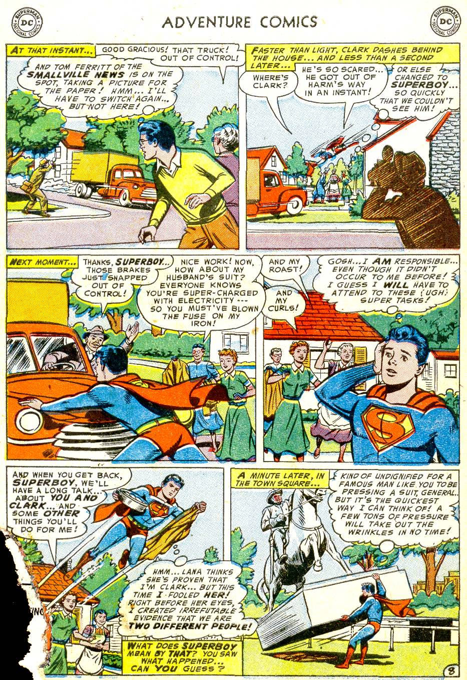 Read online Adventure Comics (1938) comic -  Issue #194 - 10