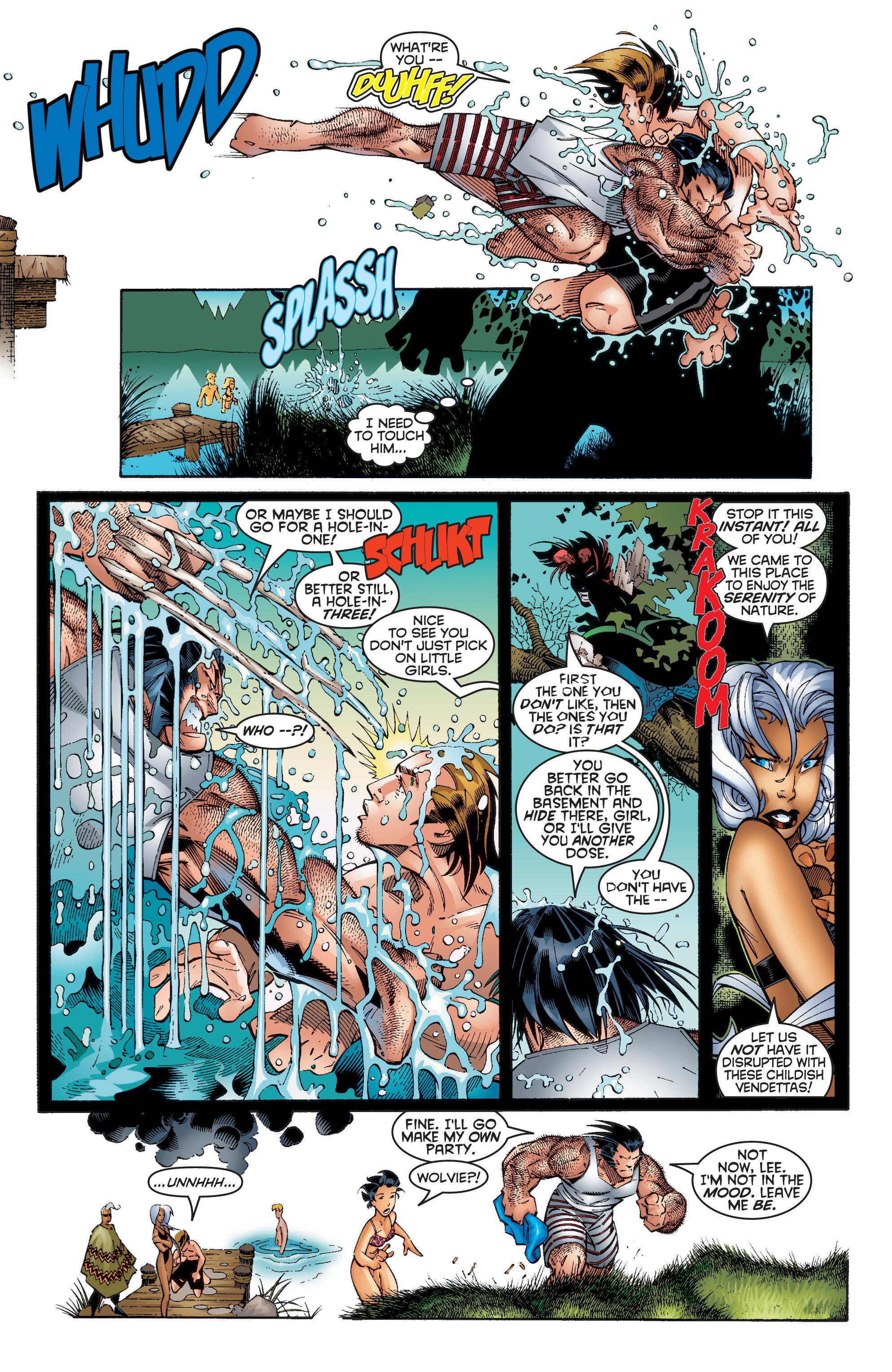 Read online Uncanny X-Men (1963) comic -  Issue #353 - 19