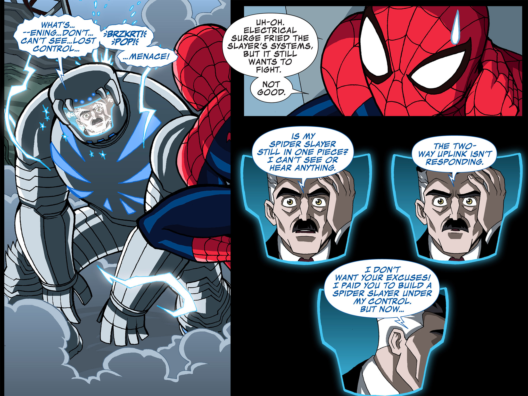 Read online Ultimate Spider-Man (Infinite Comics) (2015) comic -  Issue #4 - 19