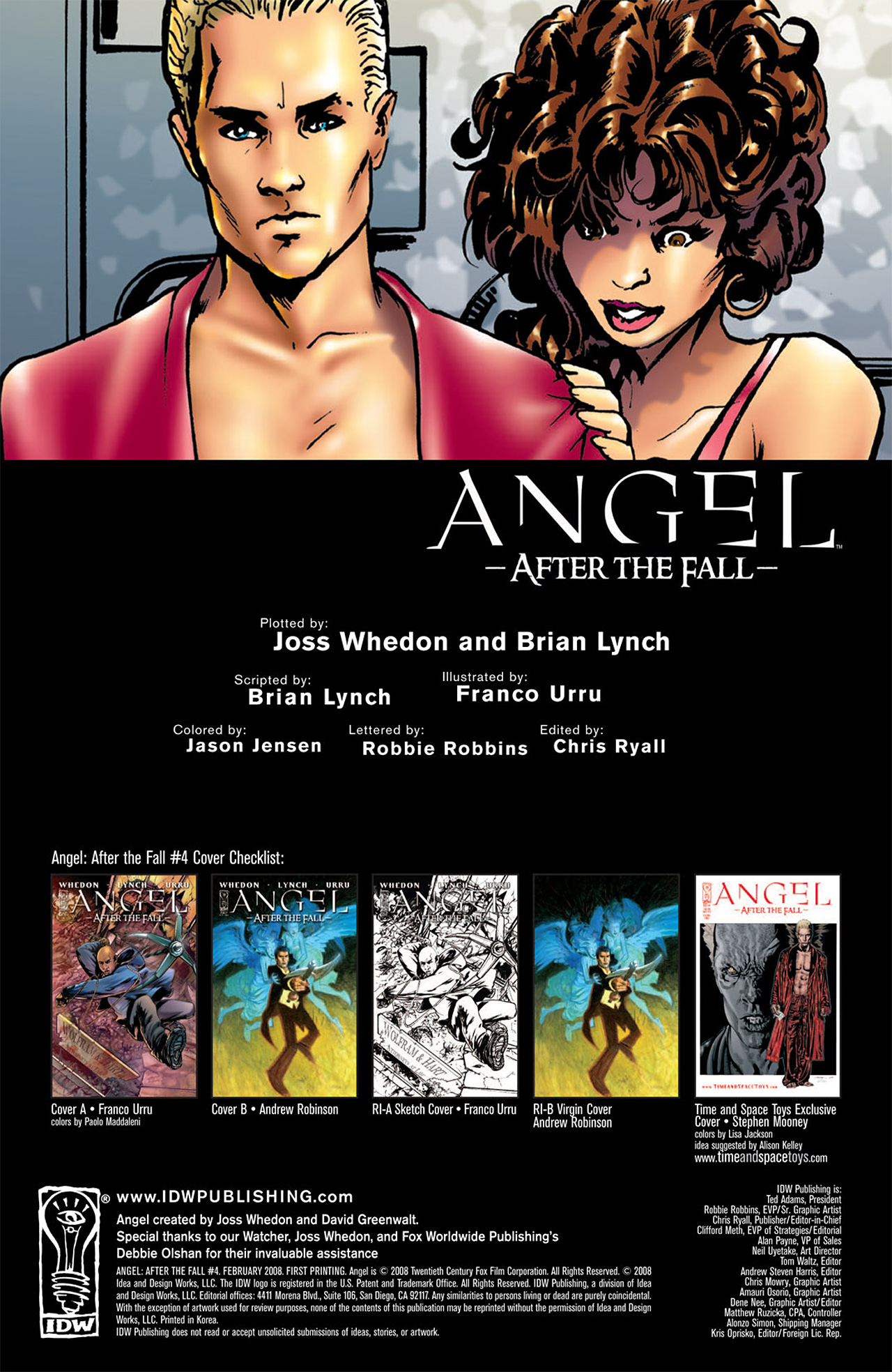 Read online Angel: After The Fall comic -  Issue #4 - 4