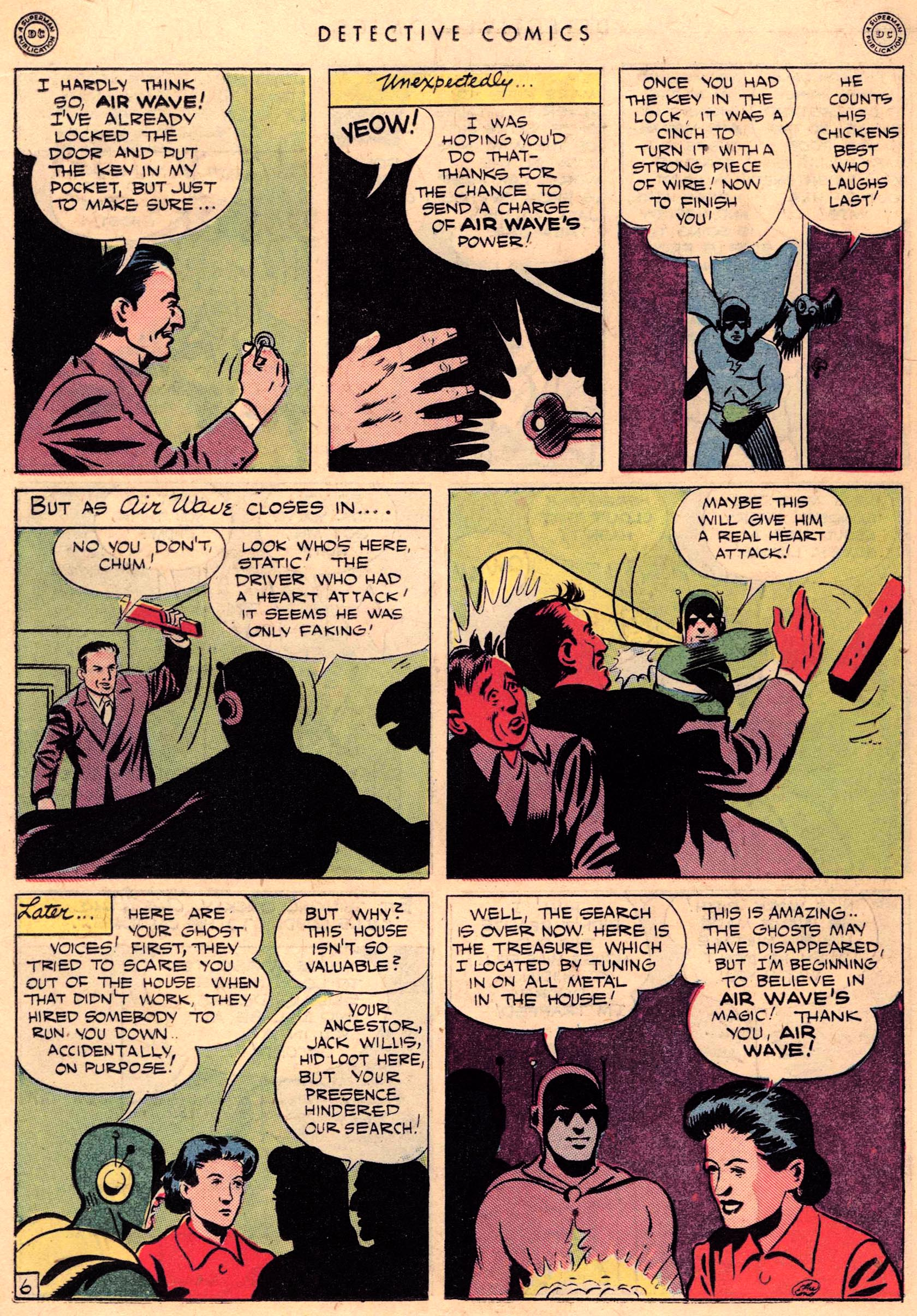 Read online Detective Comics (1937) comic -  Issue #95 - 36