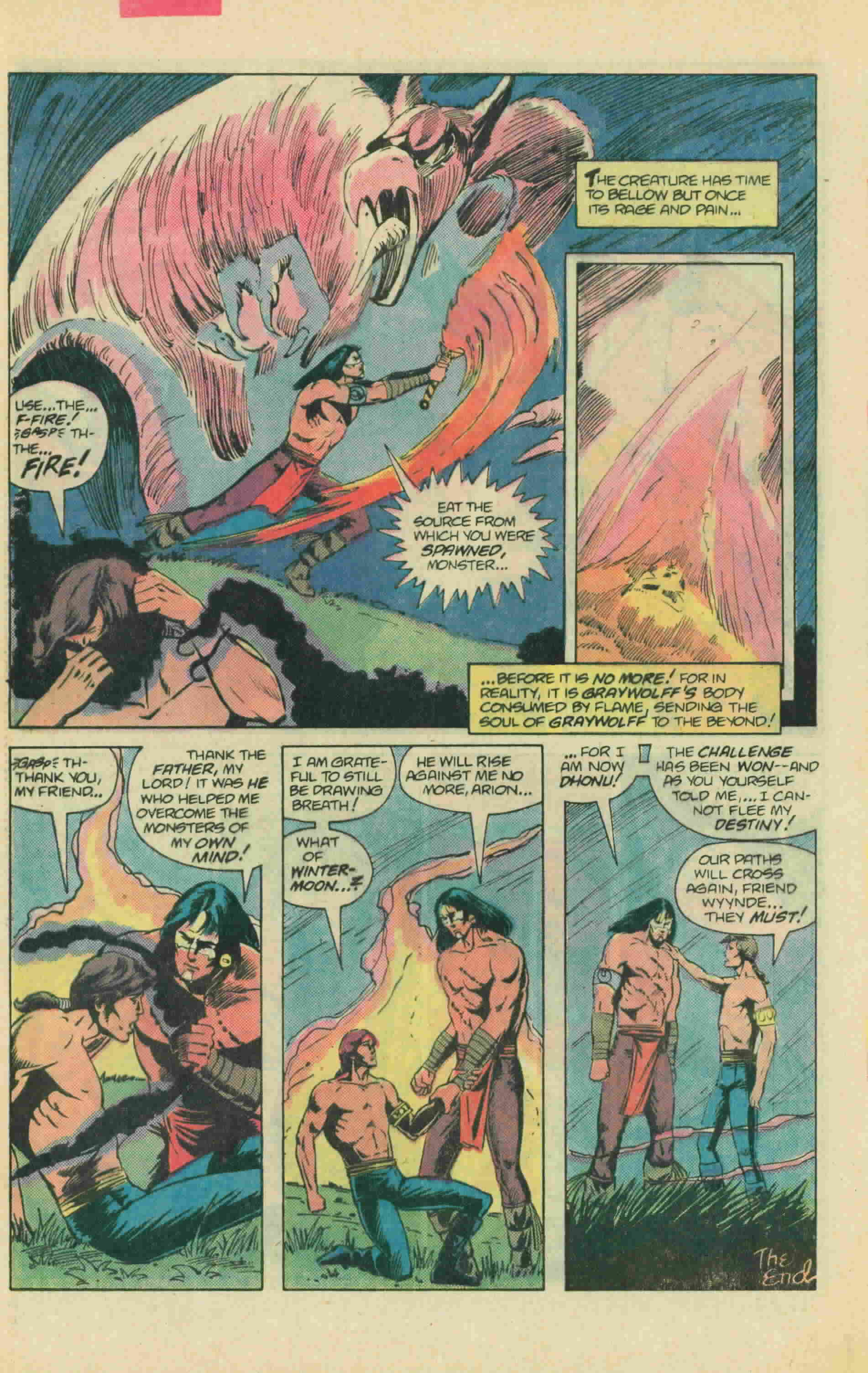 Read online Arion, Lord of Atlantis comic -  Issue #13 - 33