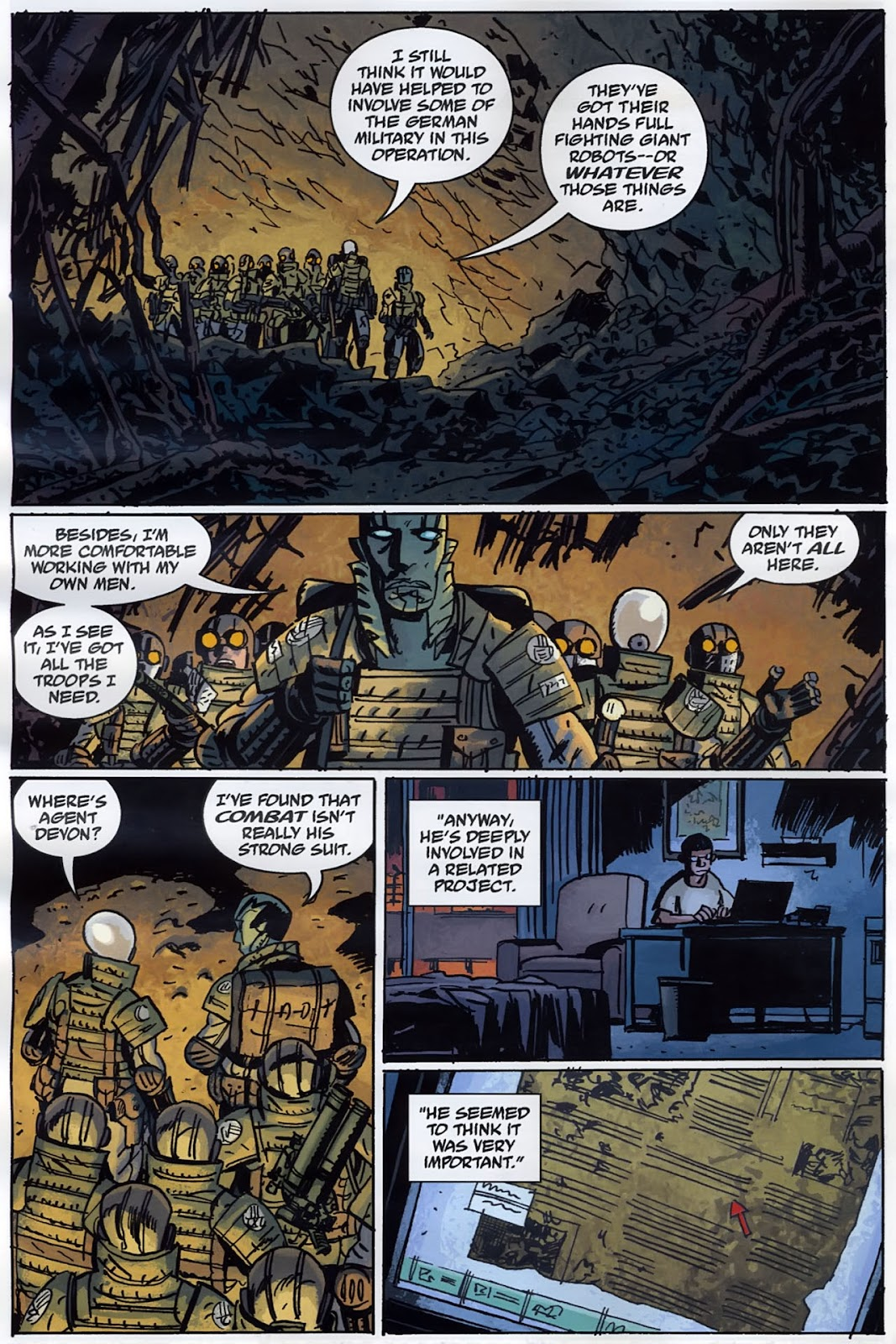 B.P.R.D.: The Warning issue 4 - Page 8
