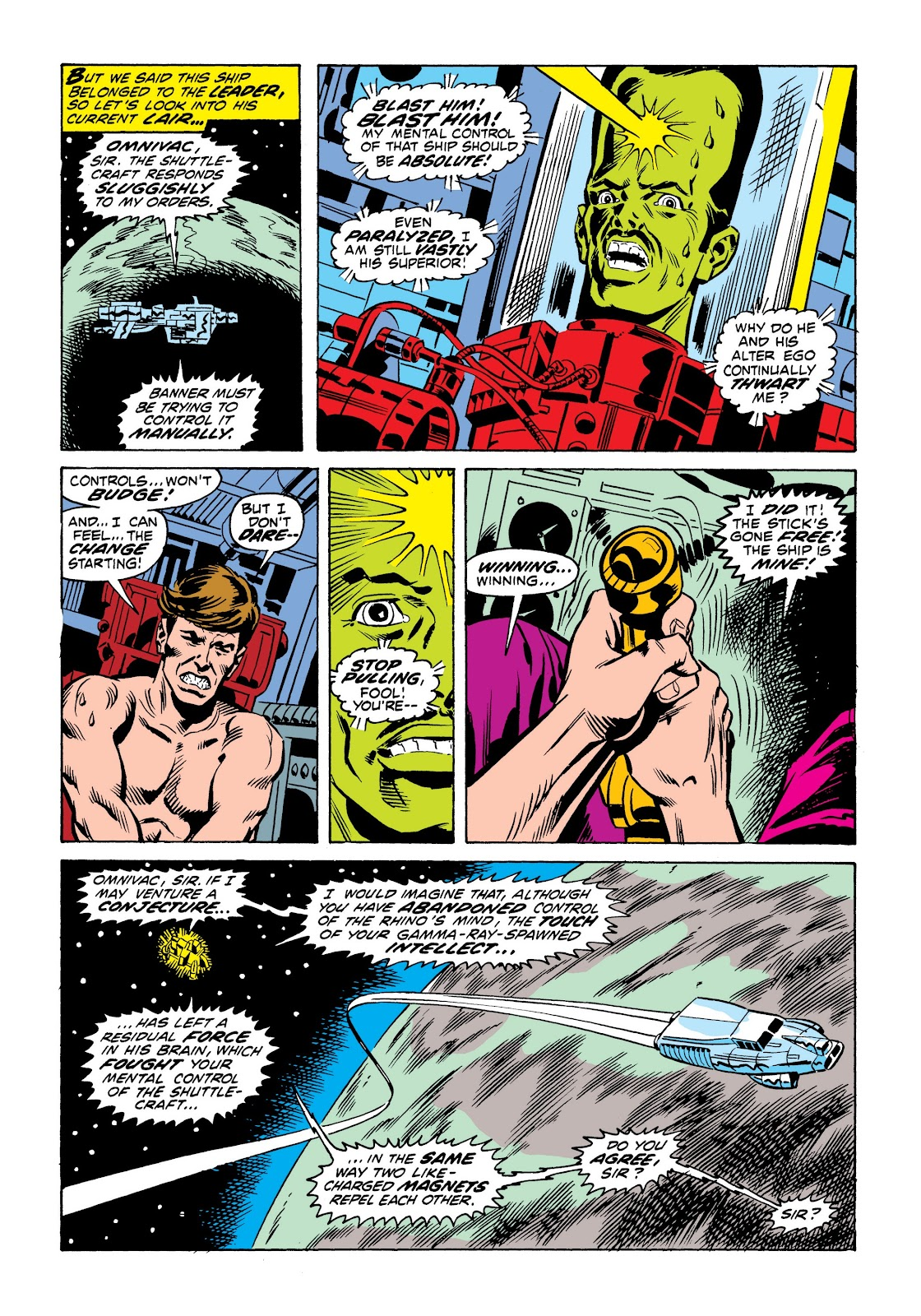 Read online Marvel Masterworks: The Incredible Hulk comic -  Issue # TPB 9 (Part 1) - 53