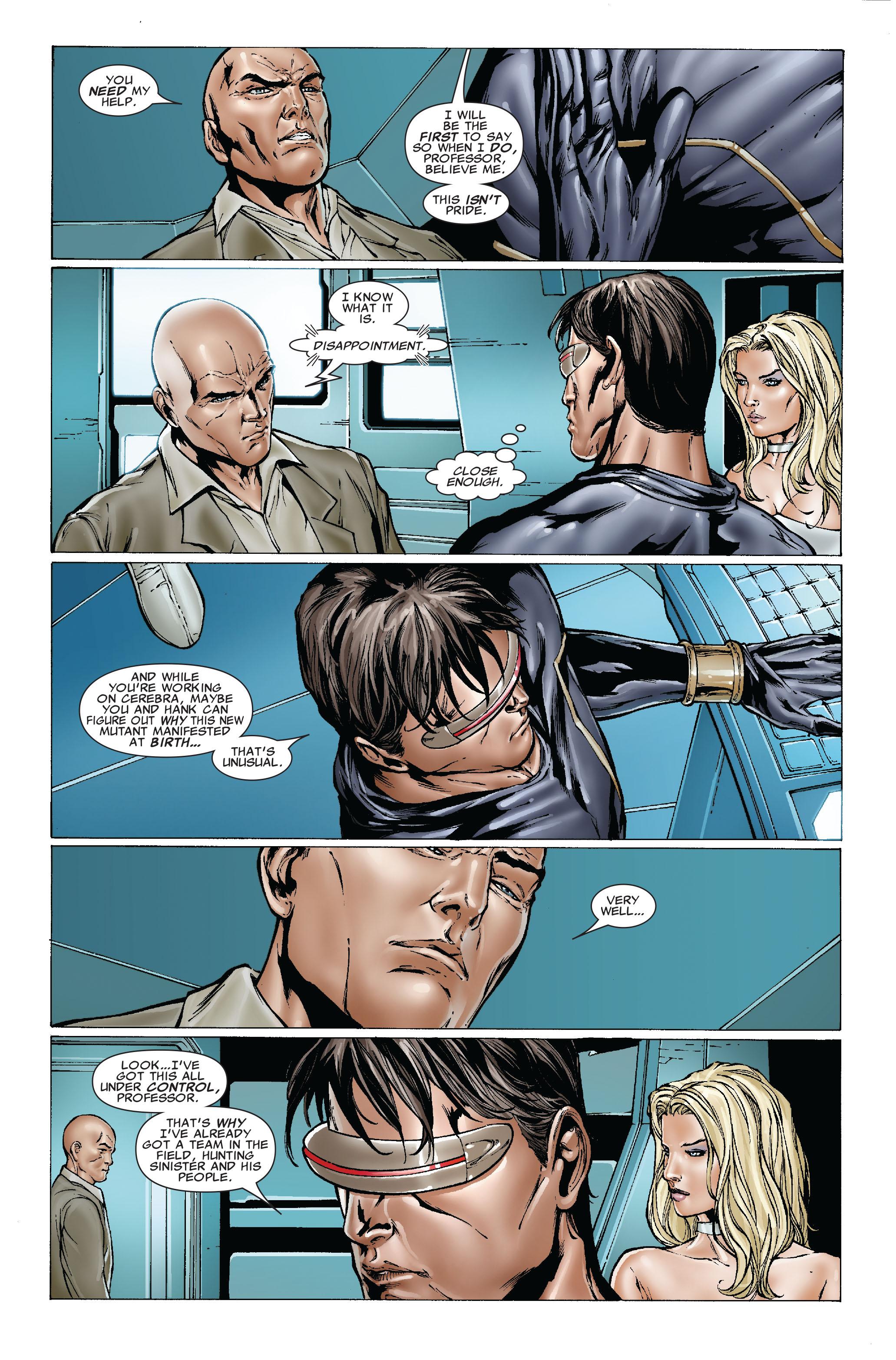 Read online Uncanny X-Men (1963) comic -  Issue #492 - 8