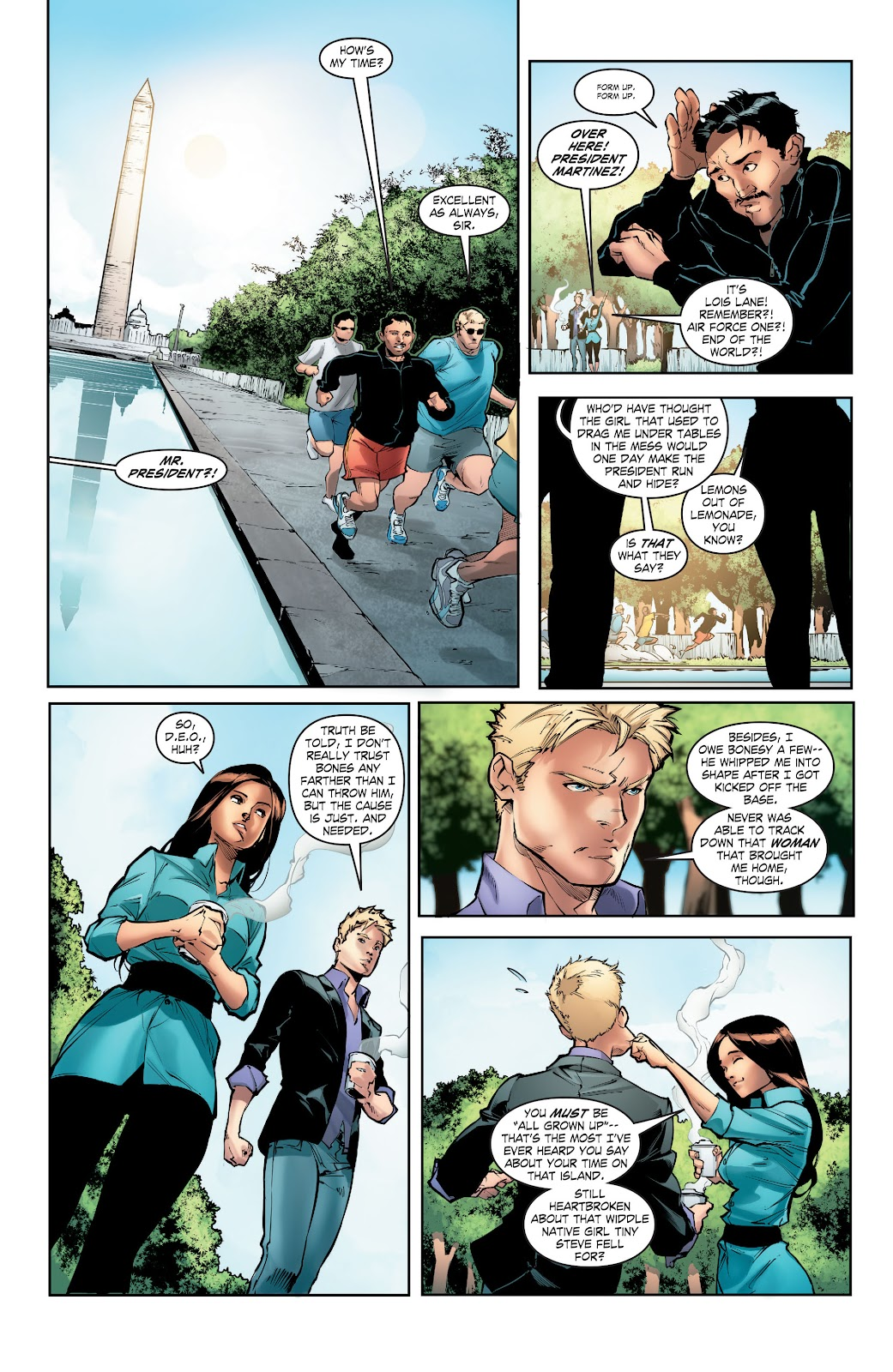 Read online Smallville Season 11 [II] comic -  Issue # TPB 5 - 41
