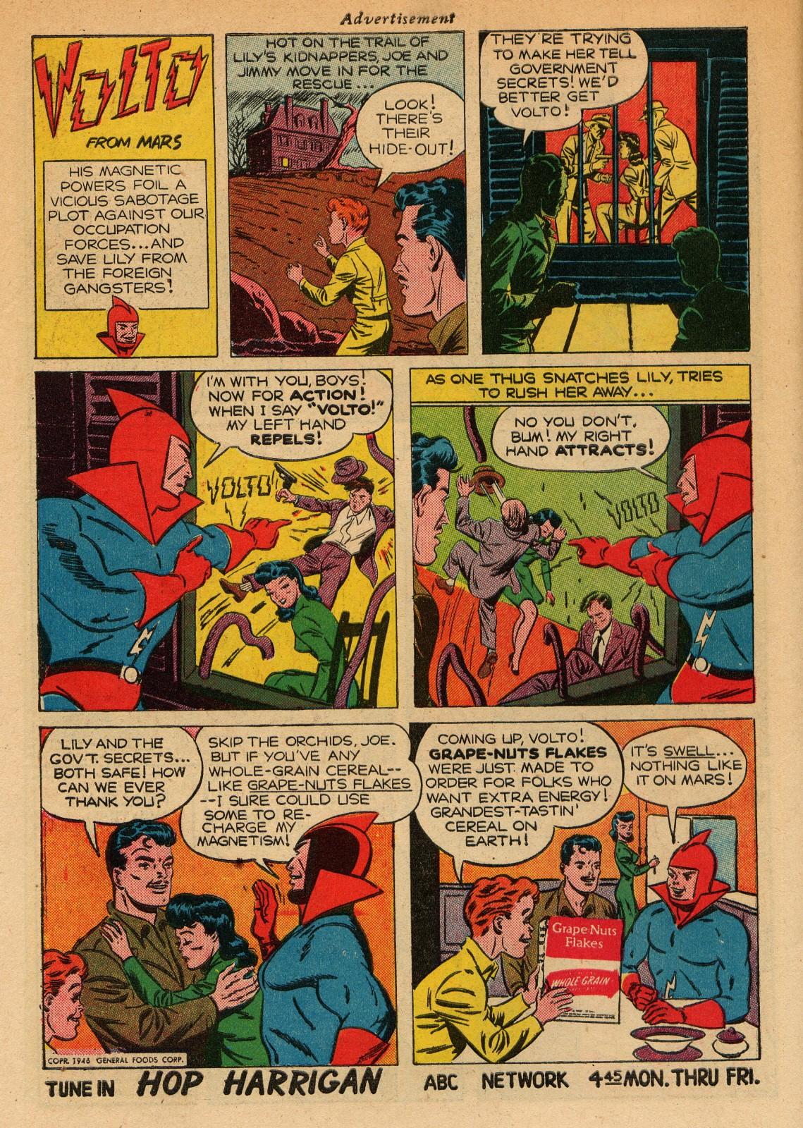 Read online Sensation (Mystery) Comics comic -  Issue #51 - 50