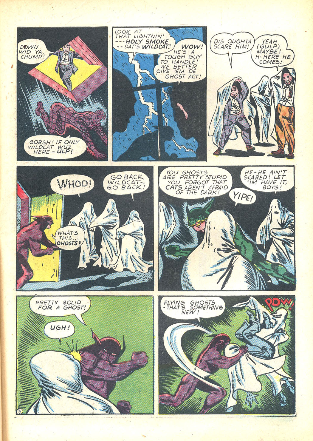 Read online Sensation (Mystery) Comics comic -  Issue #23 - 53