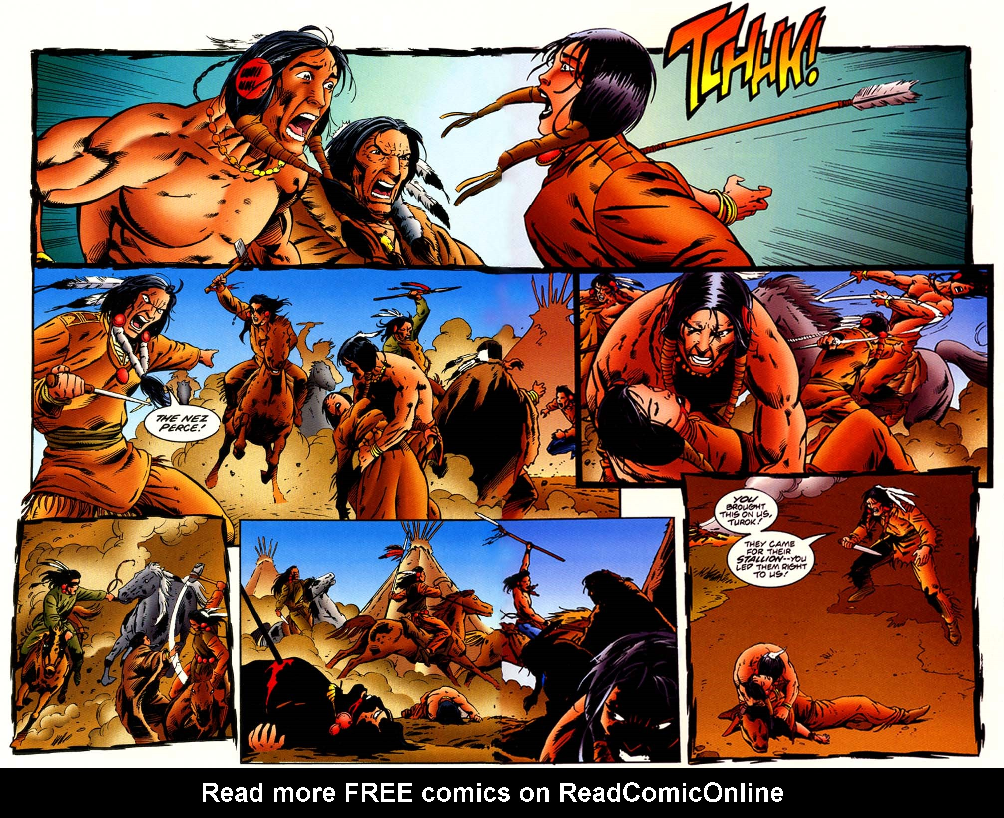 Read online Turok, Dinosaur Hunter (1993) comic -  Issue #44 - 12