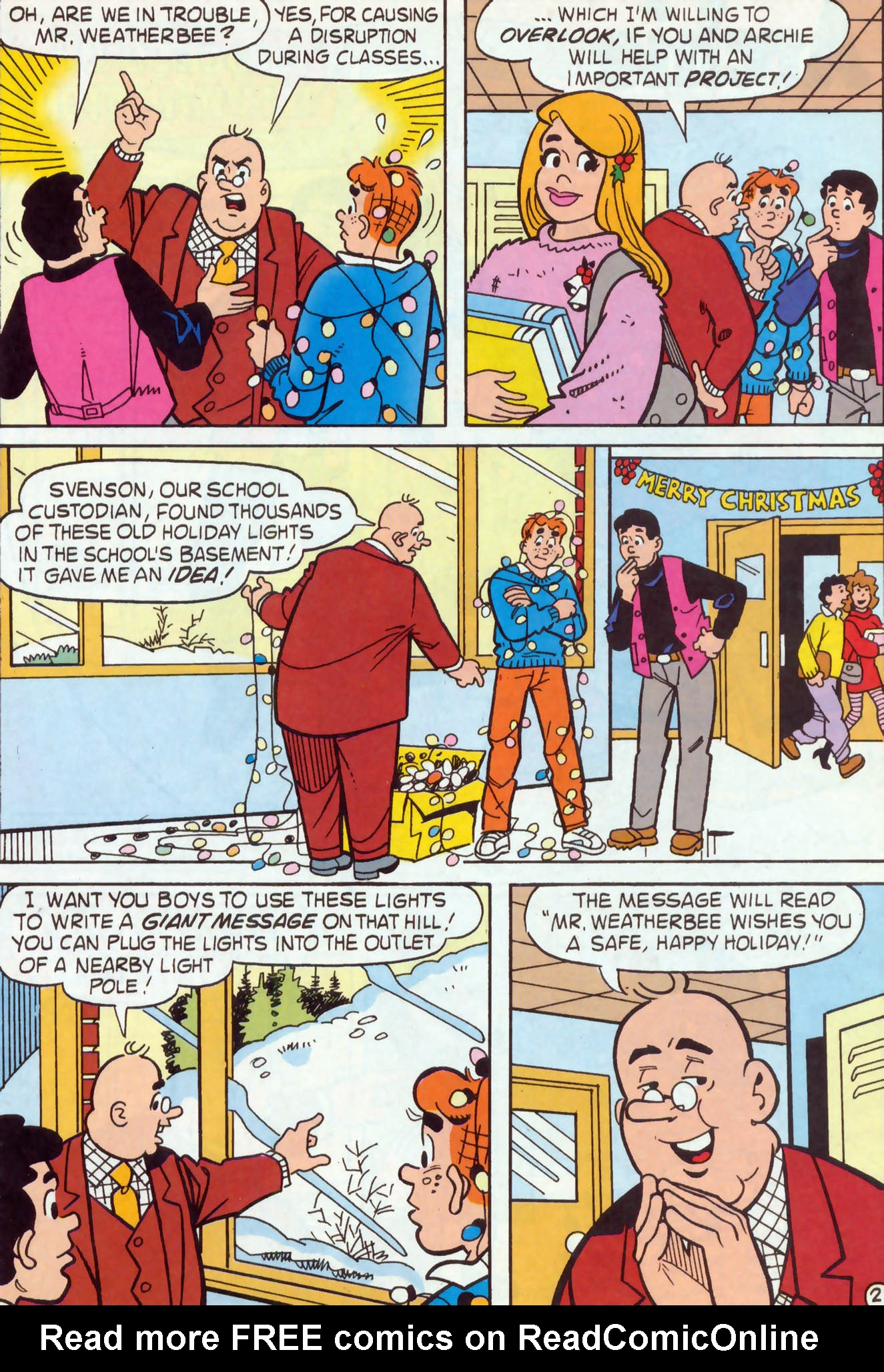 Read online Archie (1960) comic -  Issue #467 - 21
