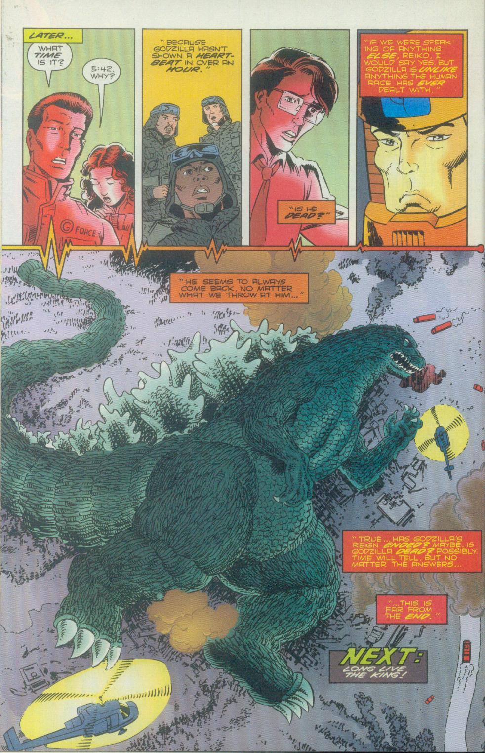 Godzilla (1995) Issue #2 #3 - English 27