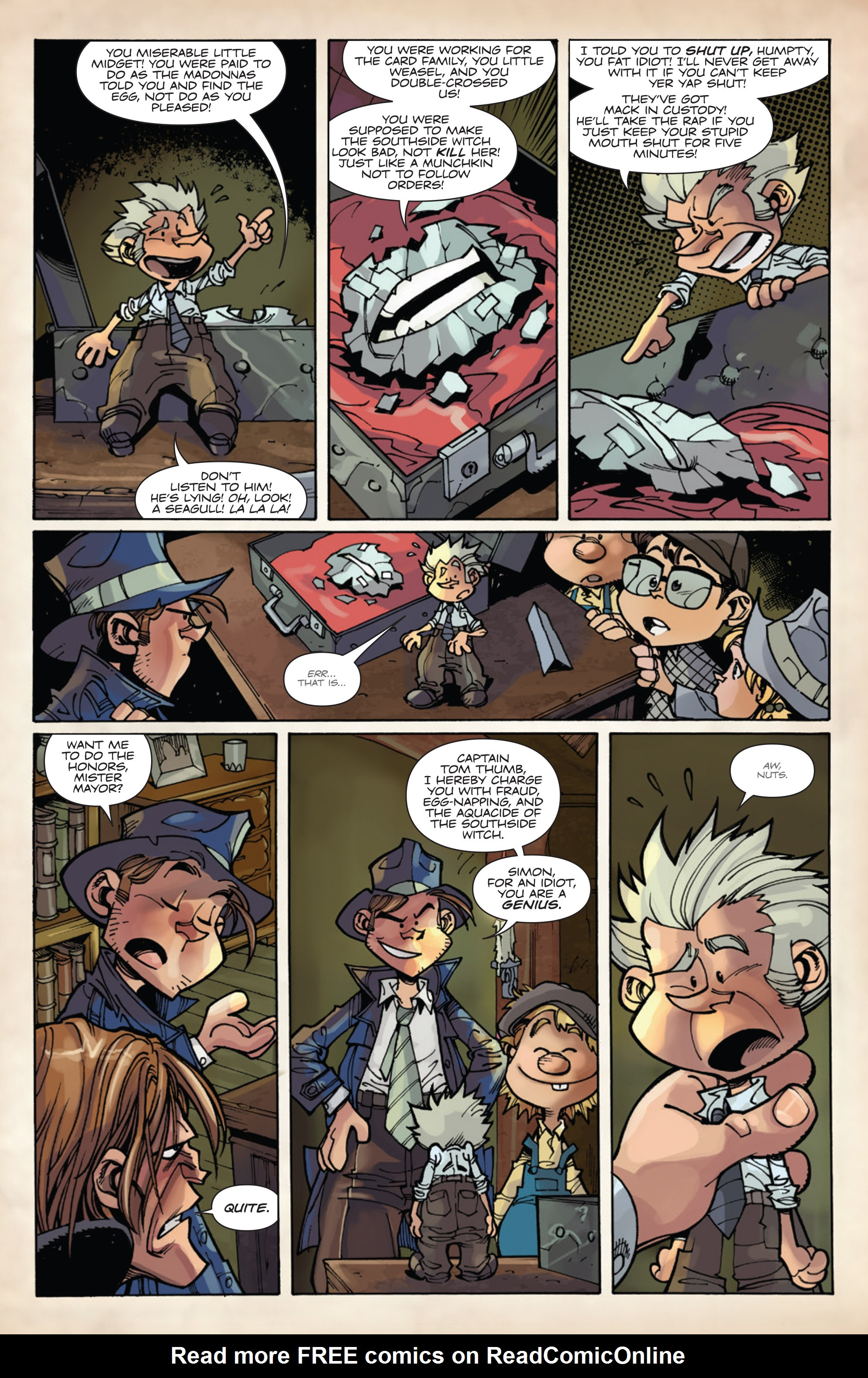 Read online Fiction Squad comic -  Issue #5 - 9