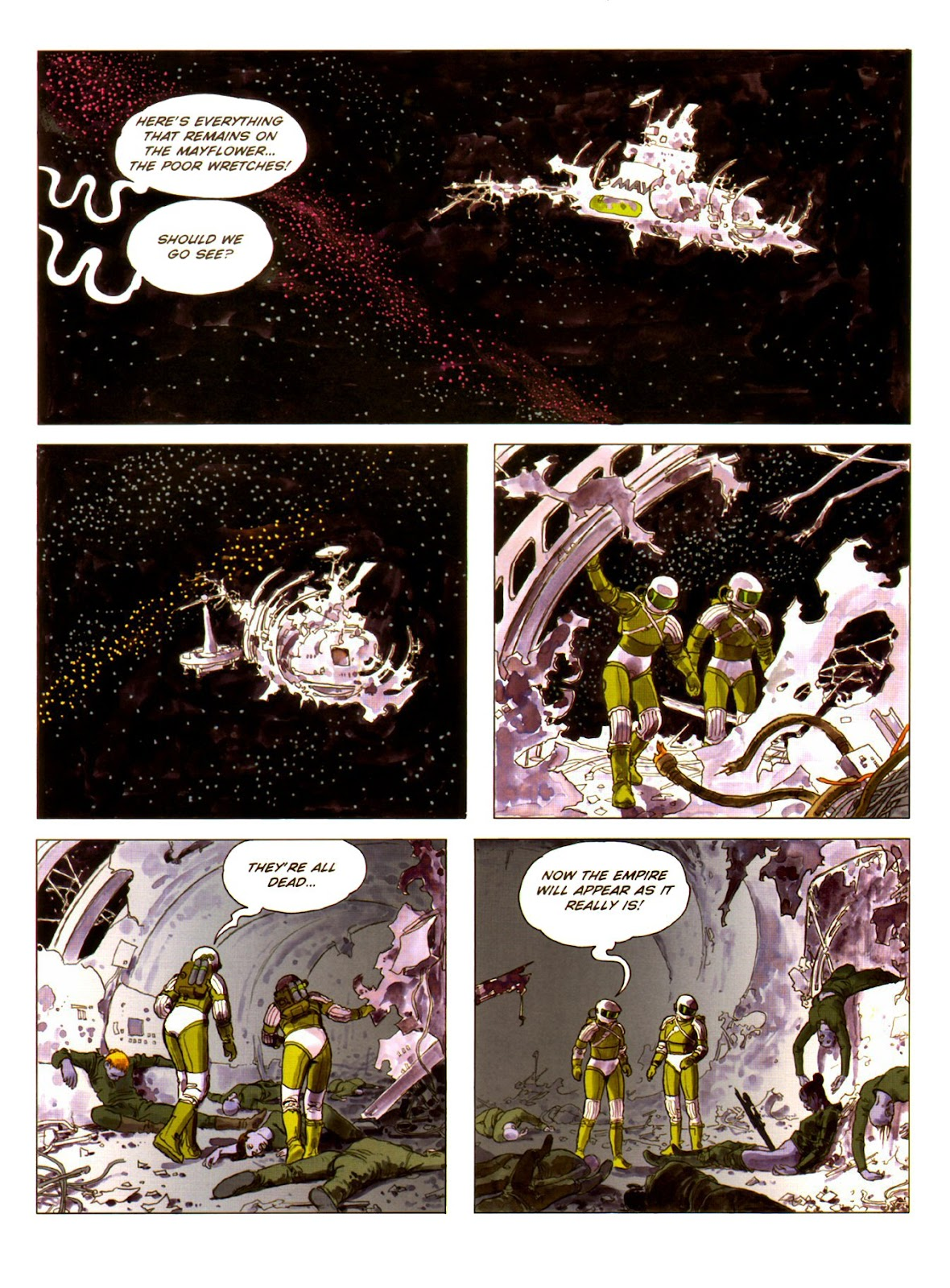 Read online Piranese The Prison Planet comic -  Issue # Full - 48