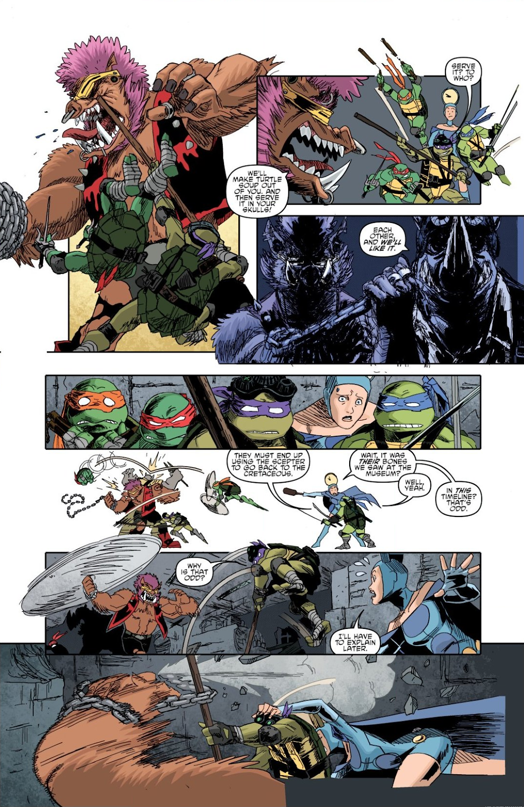 Read online Teenage Mutant Ninja Turtles: The IDW Collection comic -  Issue # TPB 8 (Part 1) - 23
