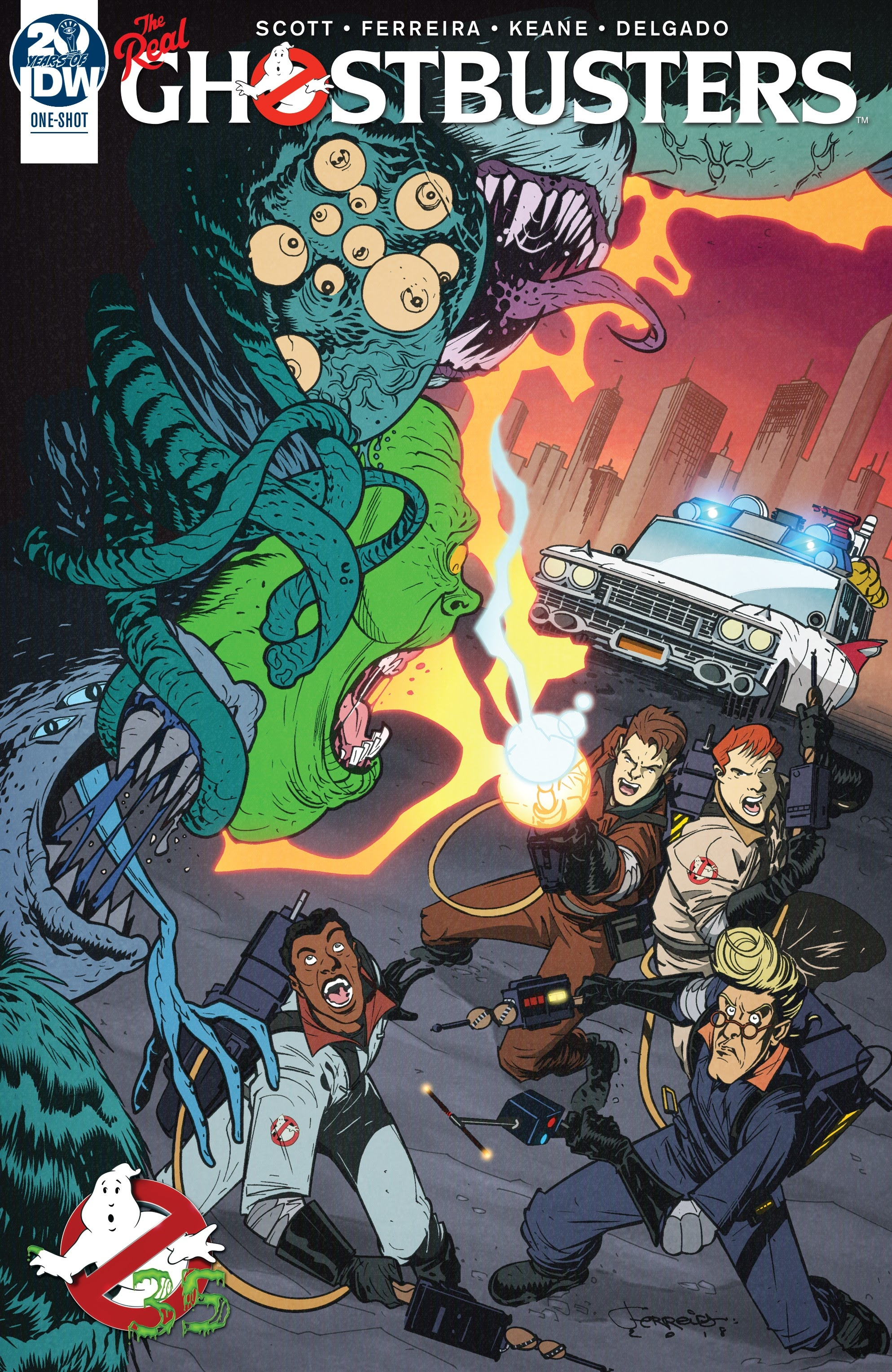 Ghostbusters 35th Anniversary: The Real Ghostbusters Full Page 1