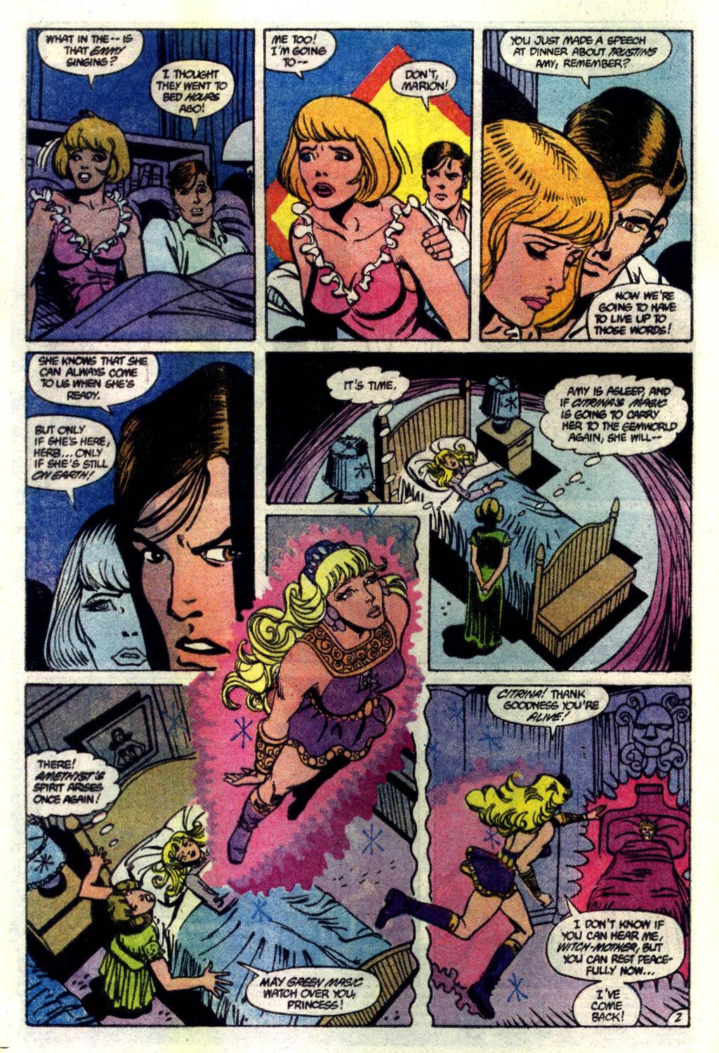 Read online Amethyst (1985) comic -  Issue #6 - 3
