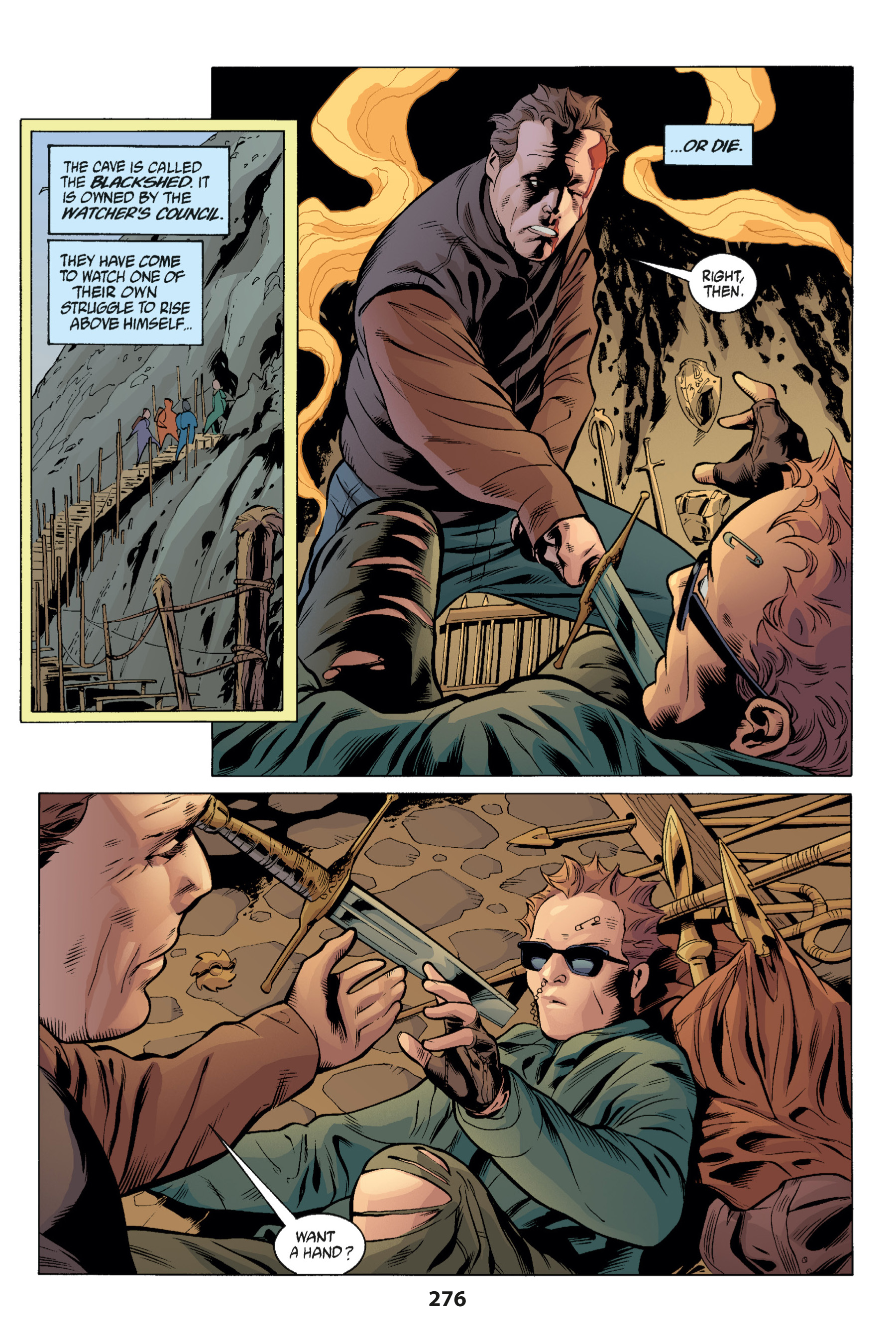 Read online Buffy the Vampire Slayer: Omnibus comic -  Issue # TPB 1 - 267