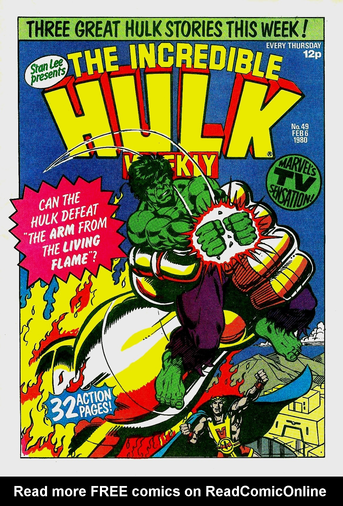 The Incredible Hulk Weekly 49 Page 1