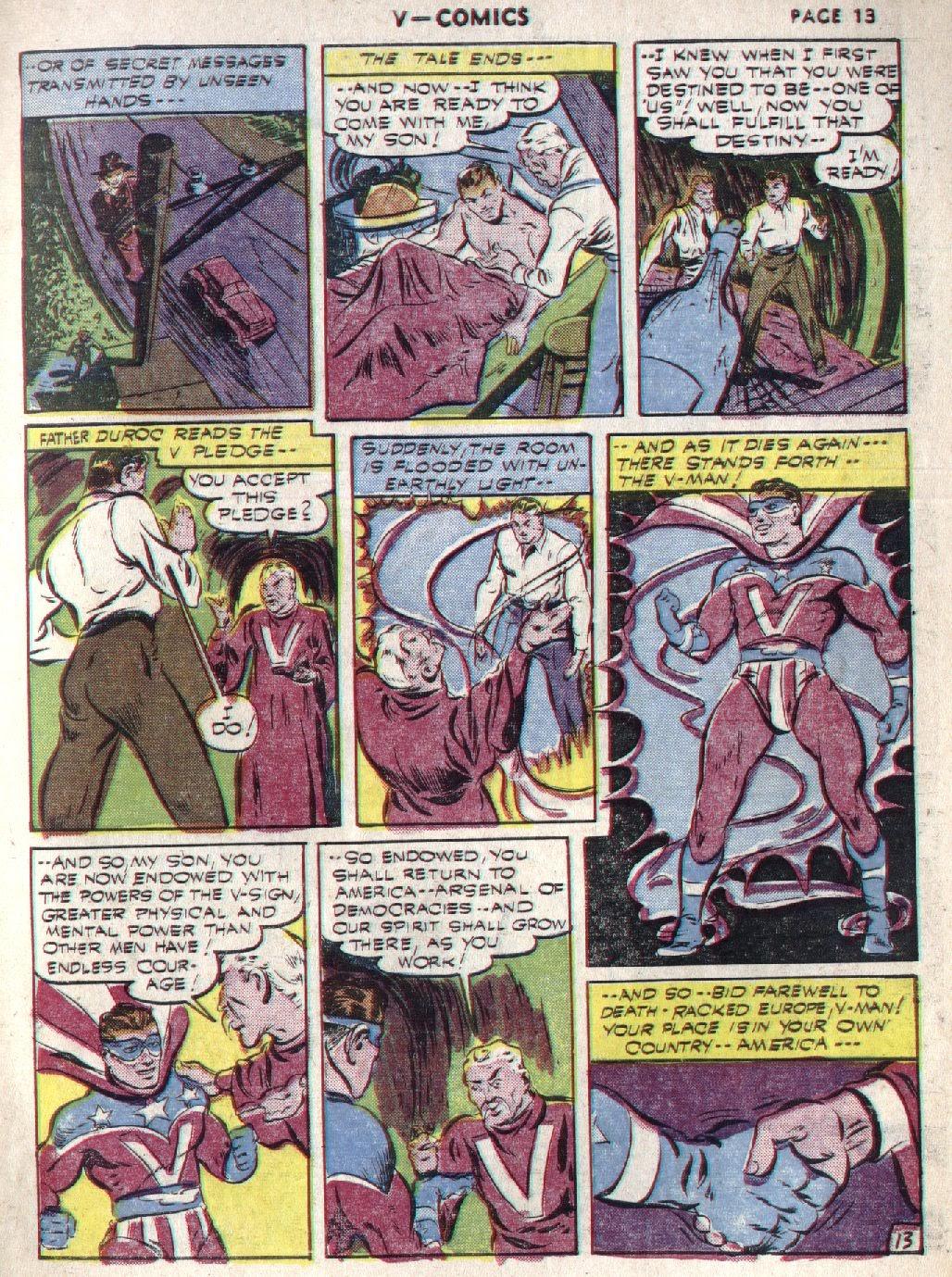 Read online V...- Comics comic -  Issue #1 - 15