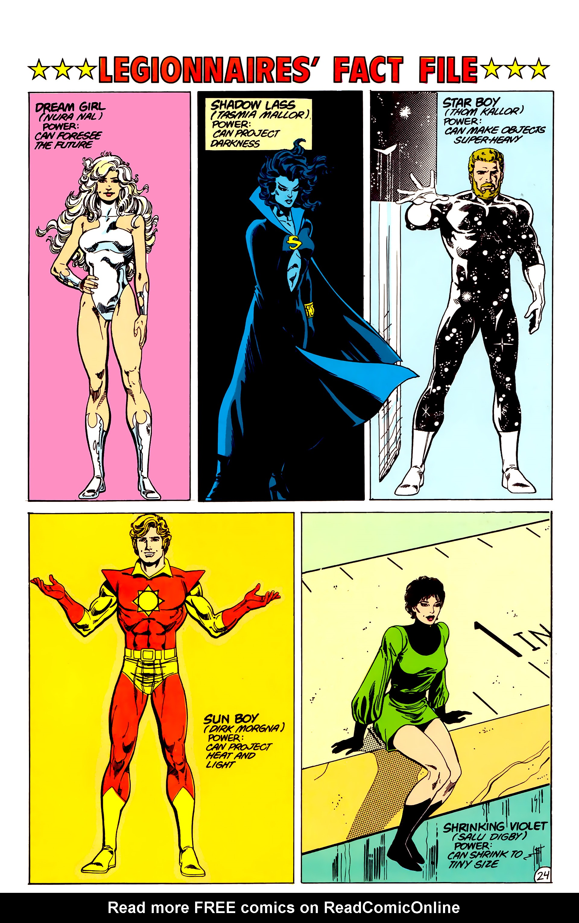 Legion of Super-Heroes (1984) 17 Page 25