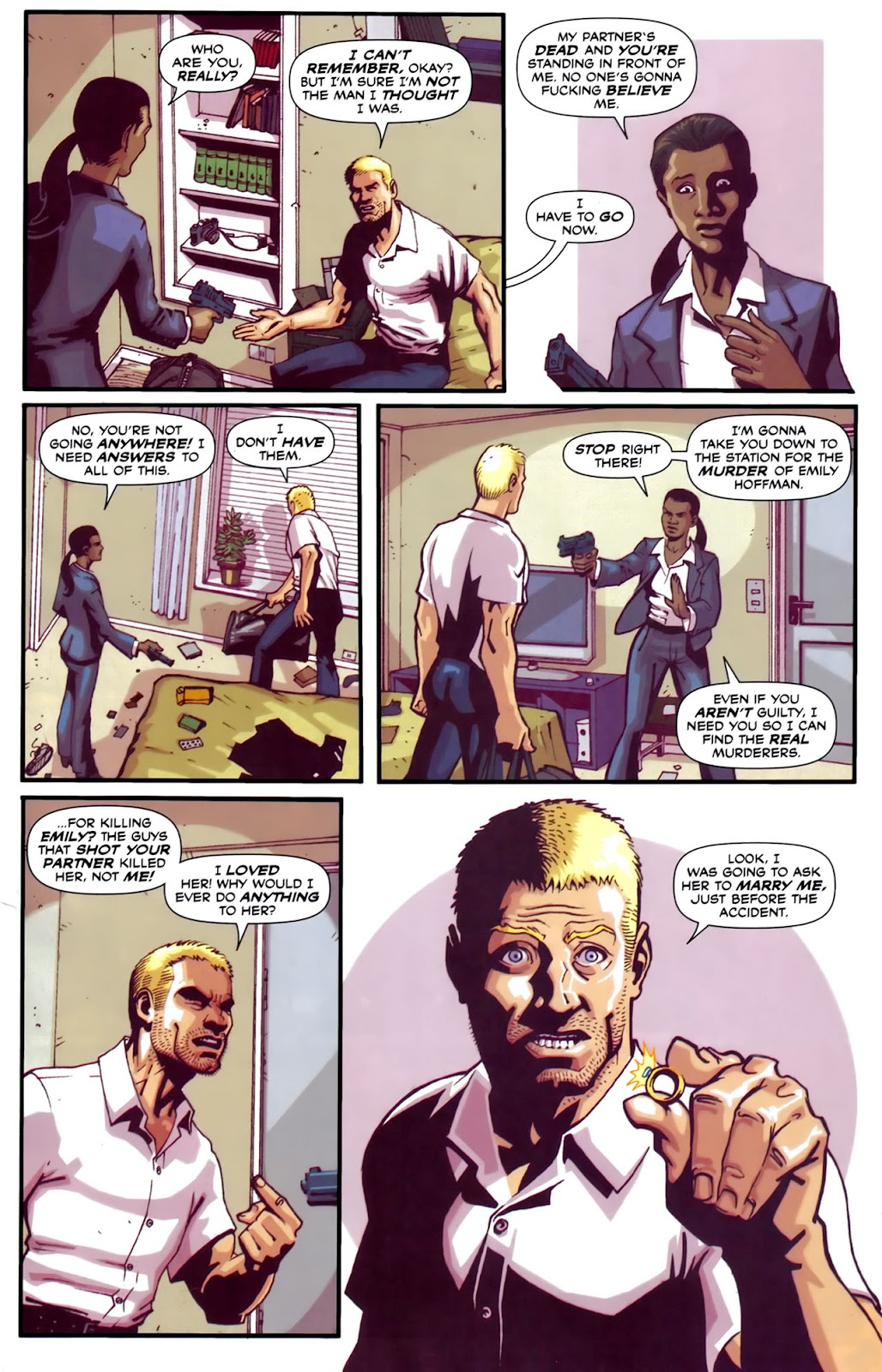 Read online Lazarus (2007) comic -  Issue #2 - 13