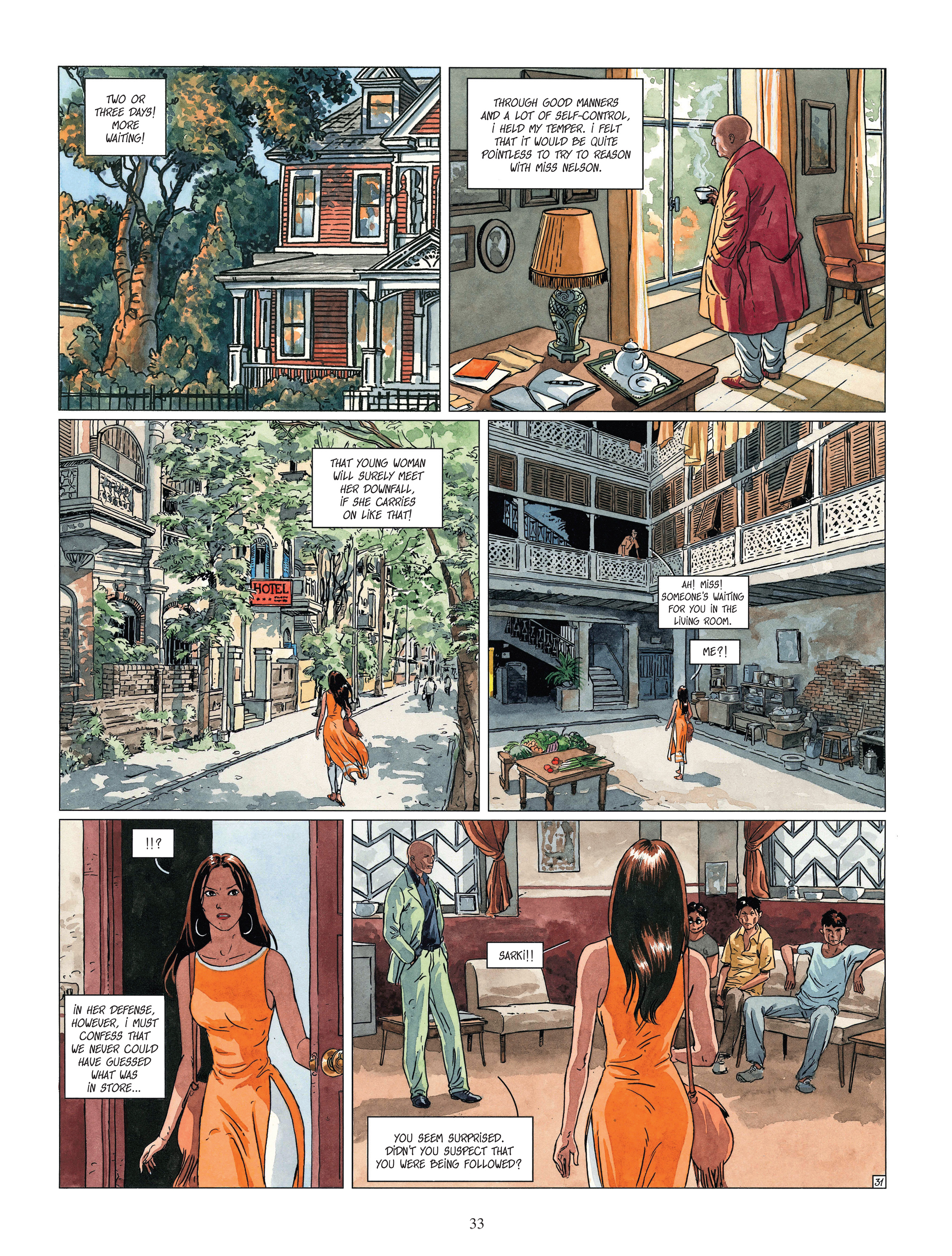 Read online Djinn comic -  Issue #13 - 34