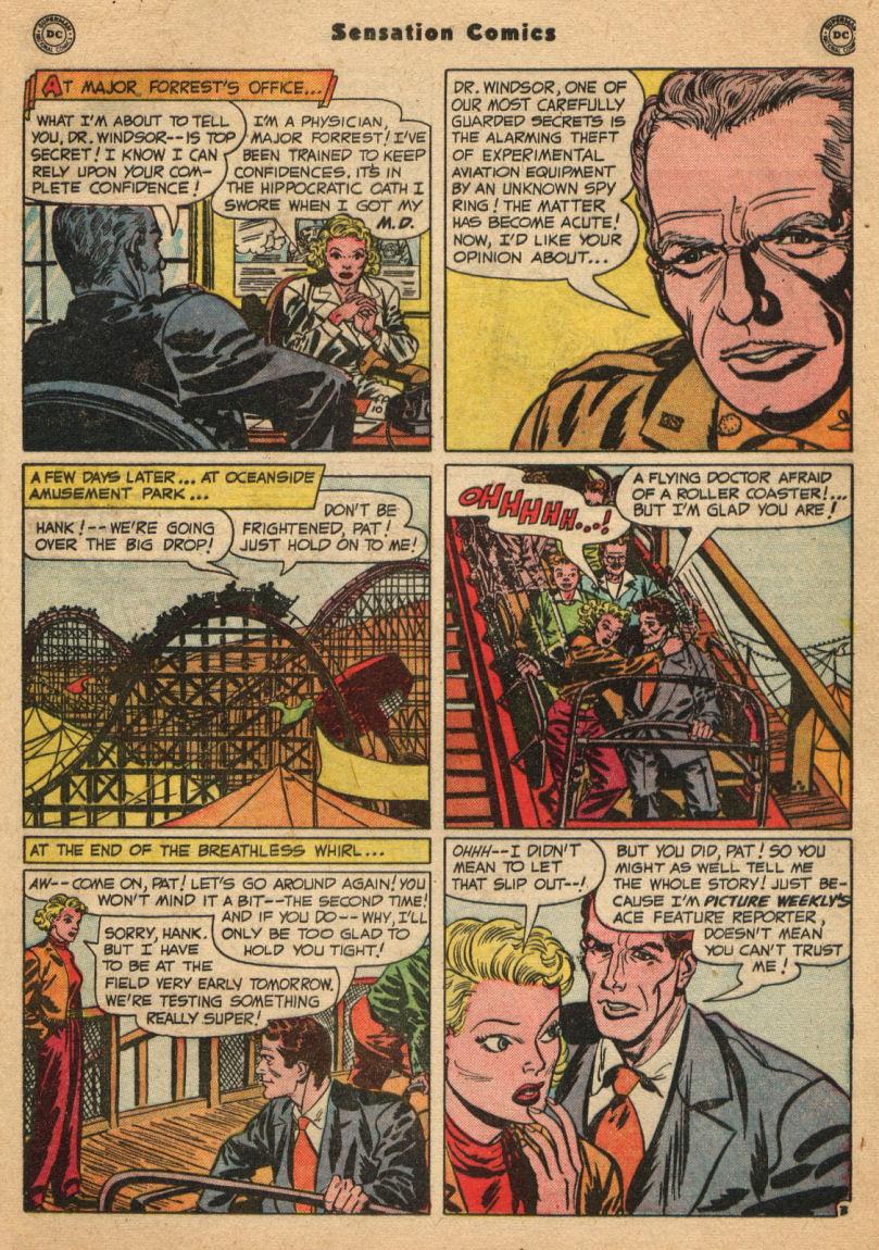 Read online Sensation (Mystery) Comics comic -  Issue #100 - 19