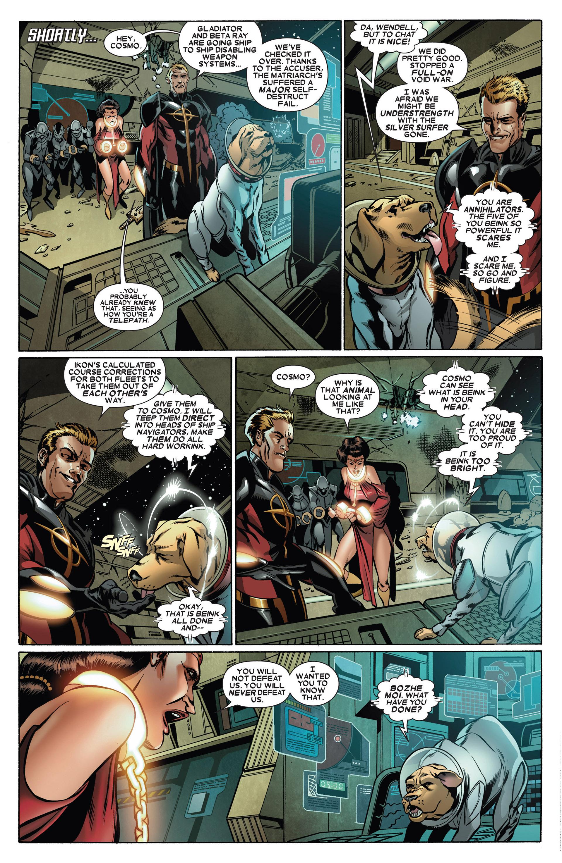 Read online Annihilators: Earthfall comic -  Issue #1 - 8