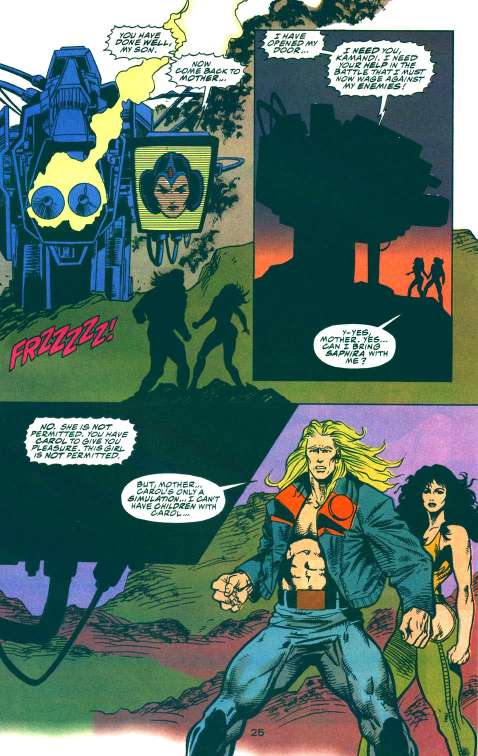Read online Kamandi: At Earth's End comic -  Issue #5 - 25