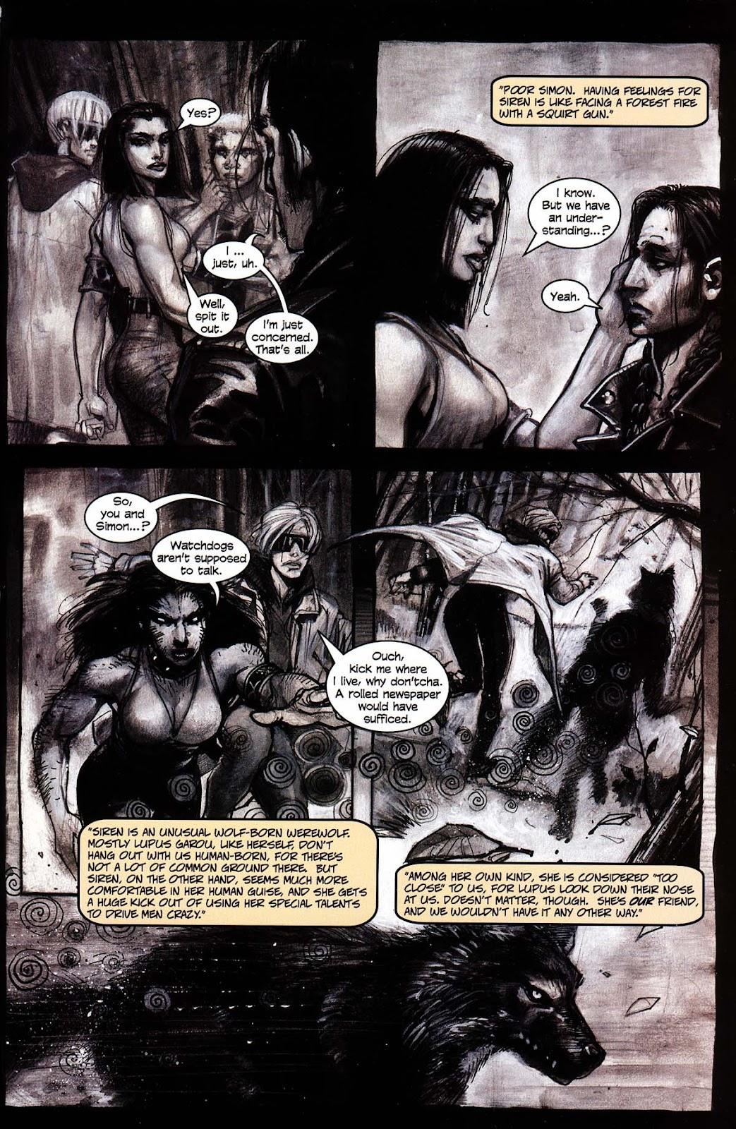 Read online Werewolf the Apocalypse comic -  Issue # Black Furies - 17