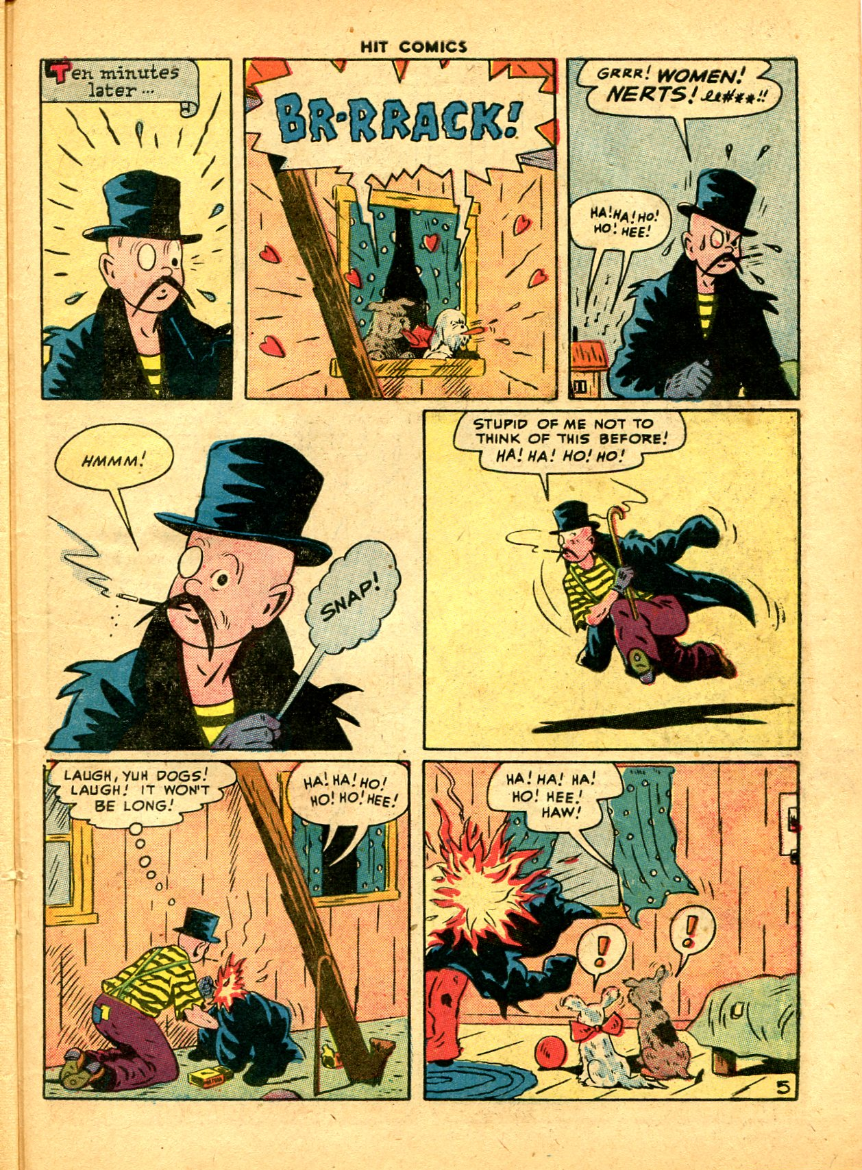Read online Hit Comics comic -  Issue #49 - 43