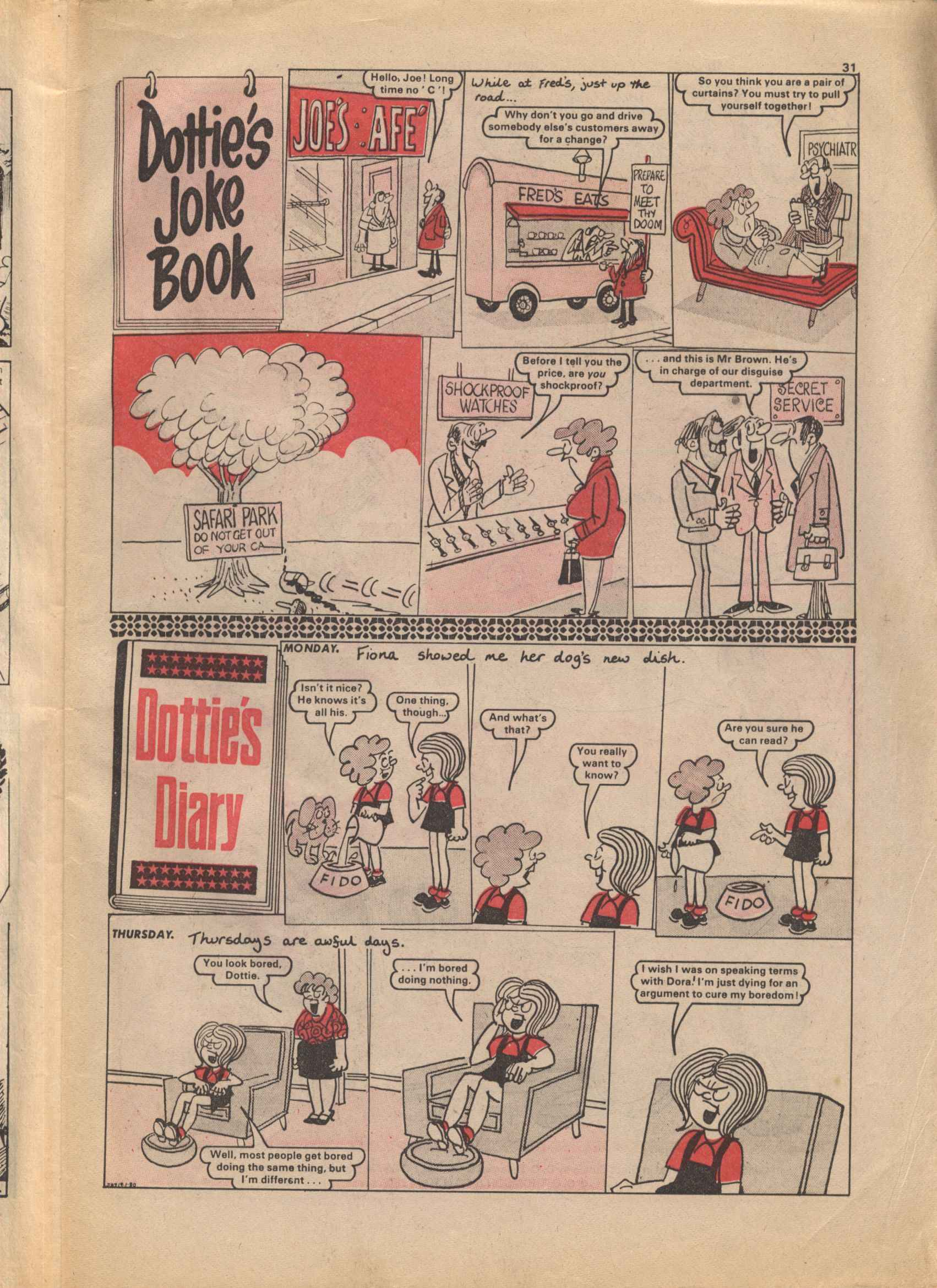 Read online Judy comic -  Issue #1045 - 31
