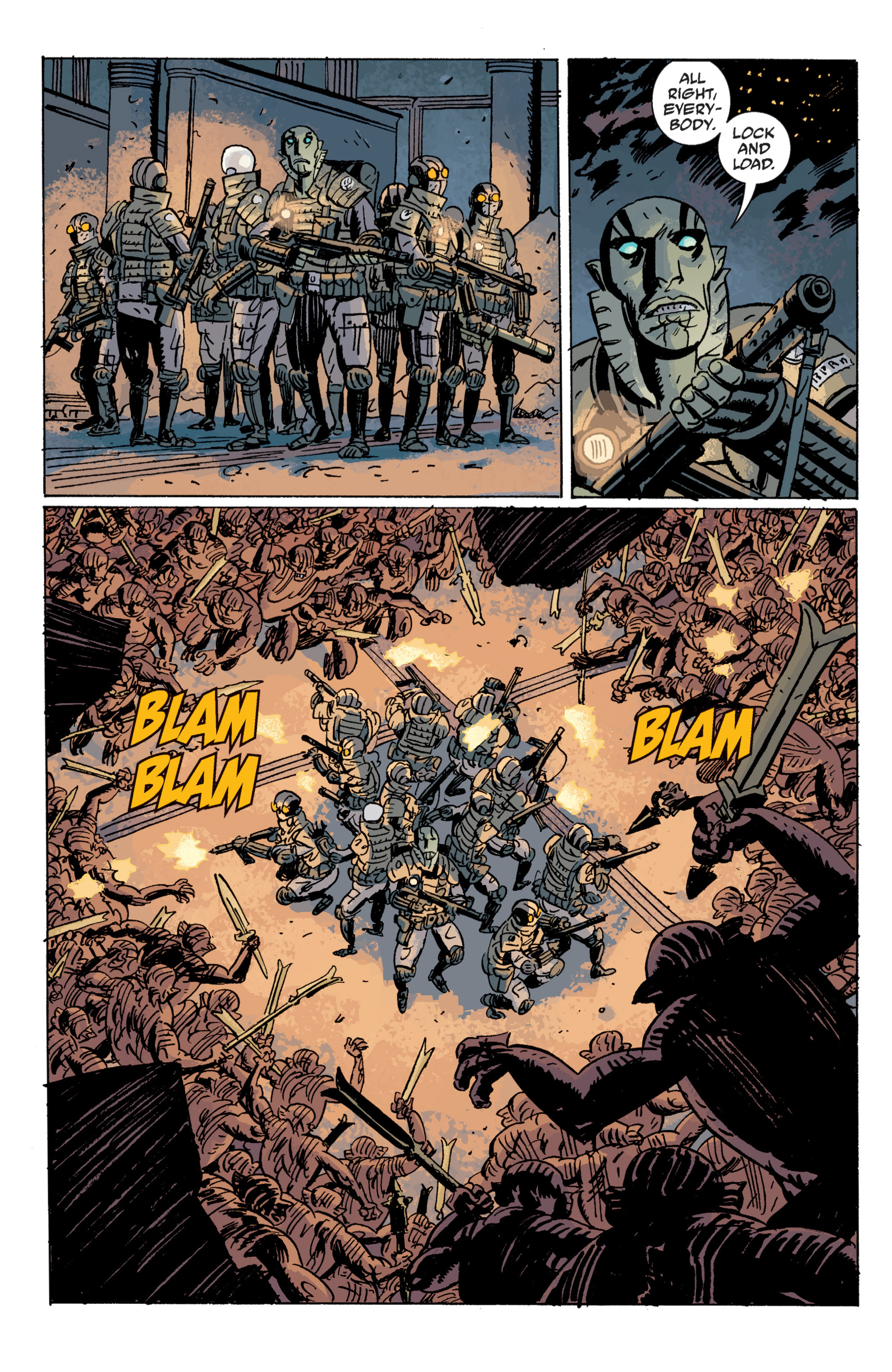 Read online B.P.R.D. (2003) comic -  Issue # TPB 10 - 101