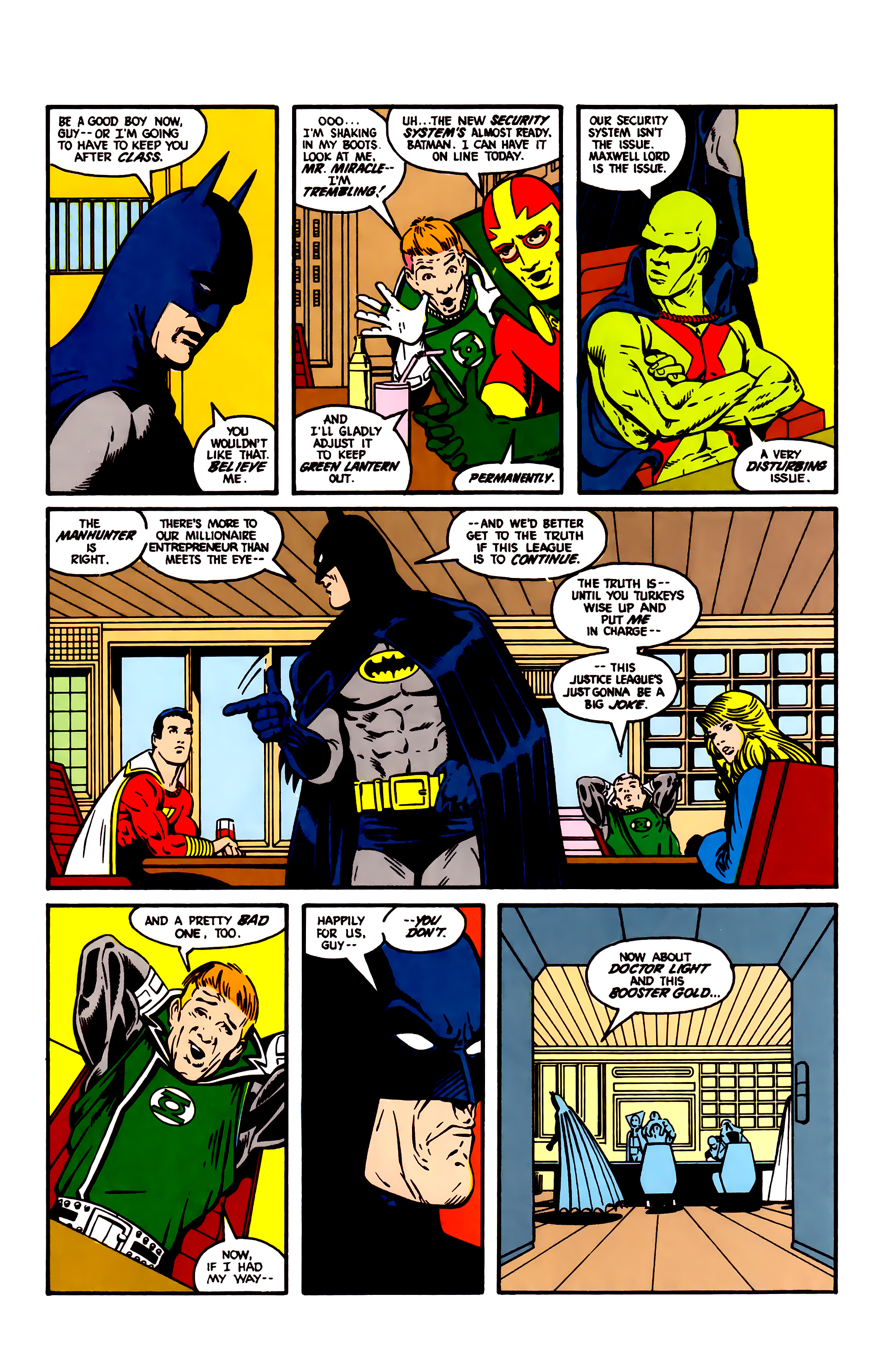 Read online Justice League (1987) comic -  Issue #4 - 3