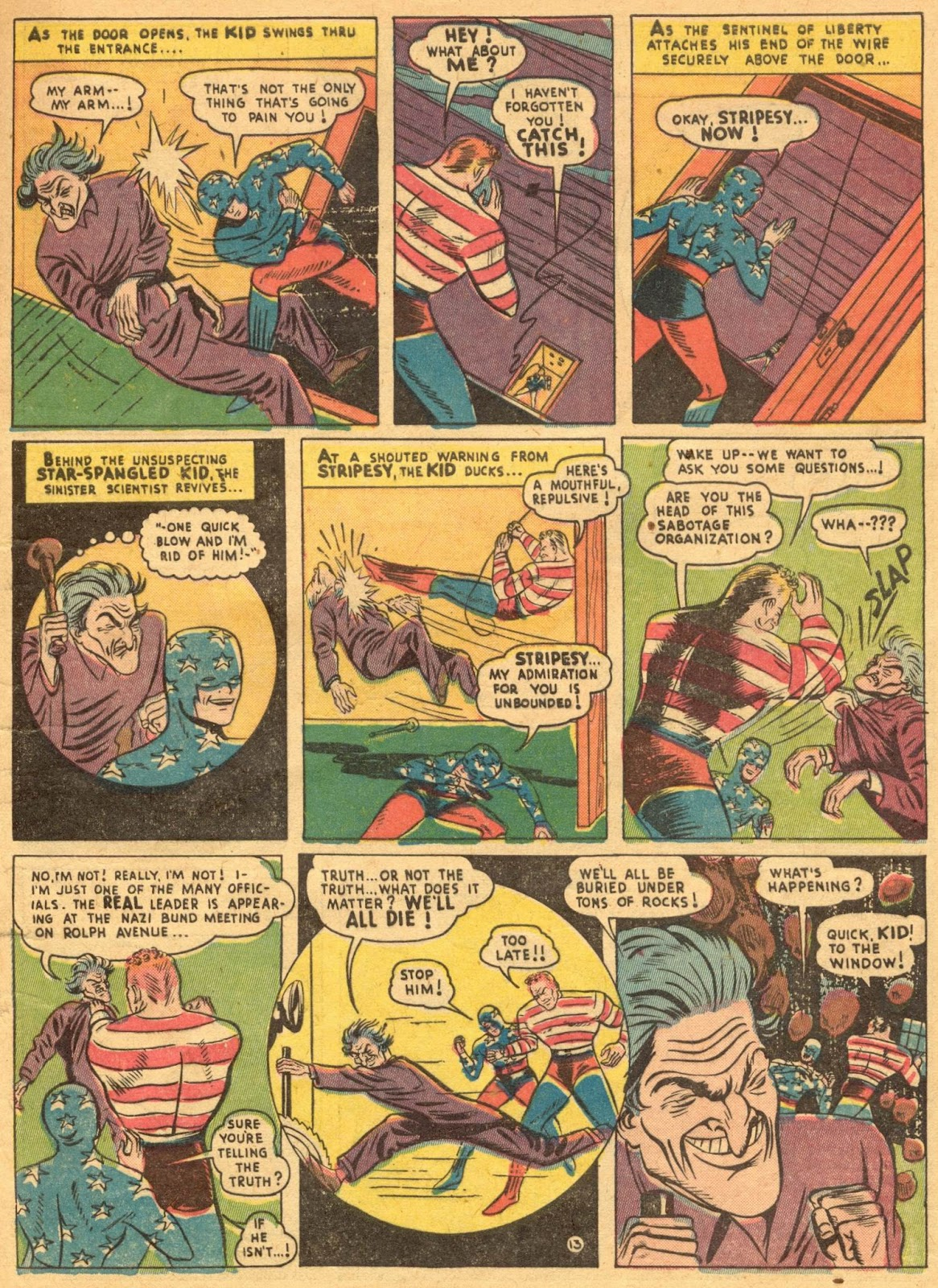Star Spangled Comics (1941) issue 1 - Page 15