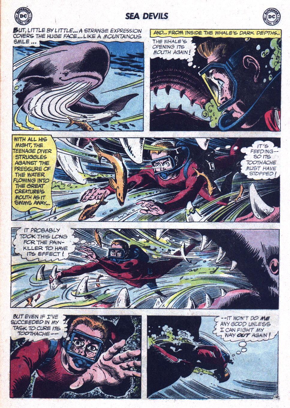Read online Sea Devils comic -  Issue #9 - 22