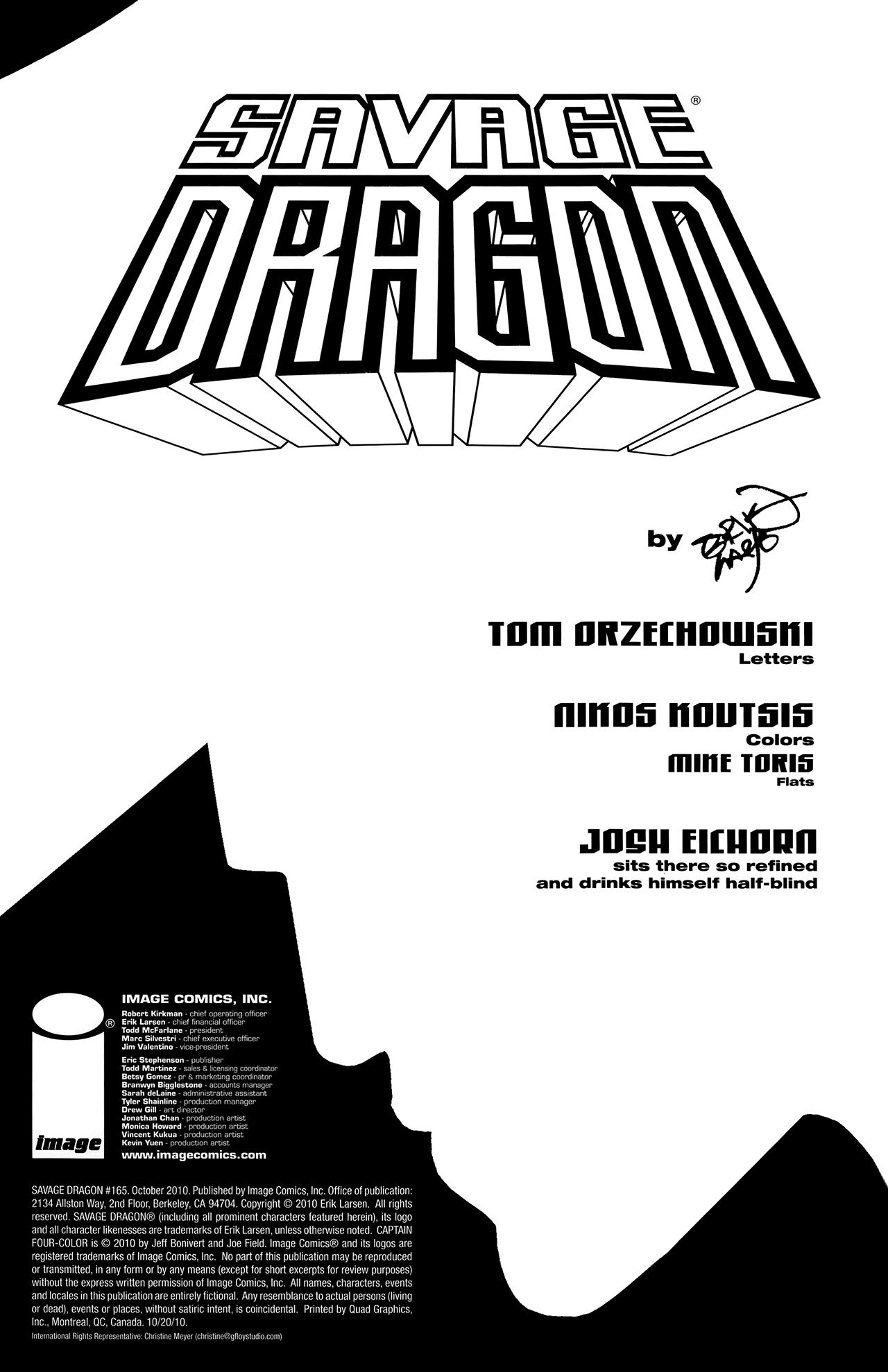 The Savage Dragon (1993) 165 Page 2